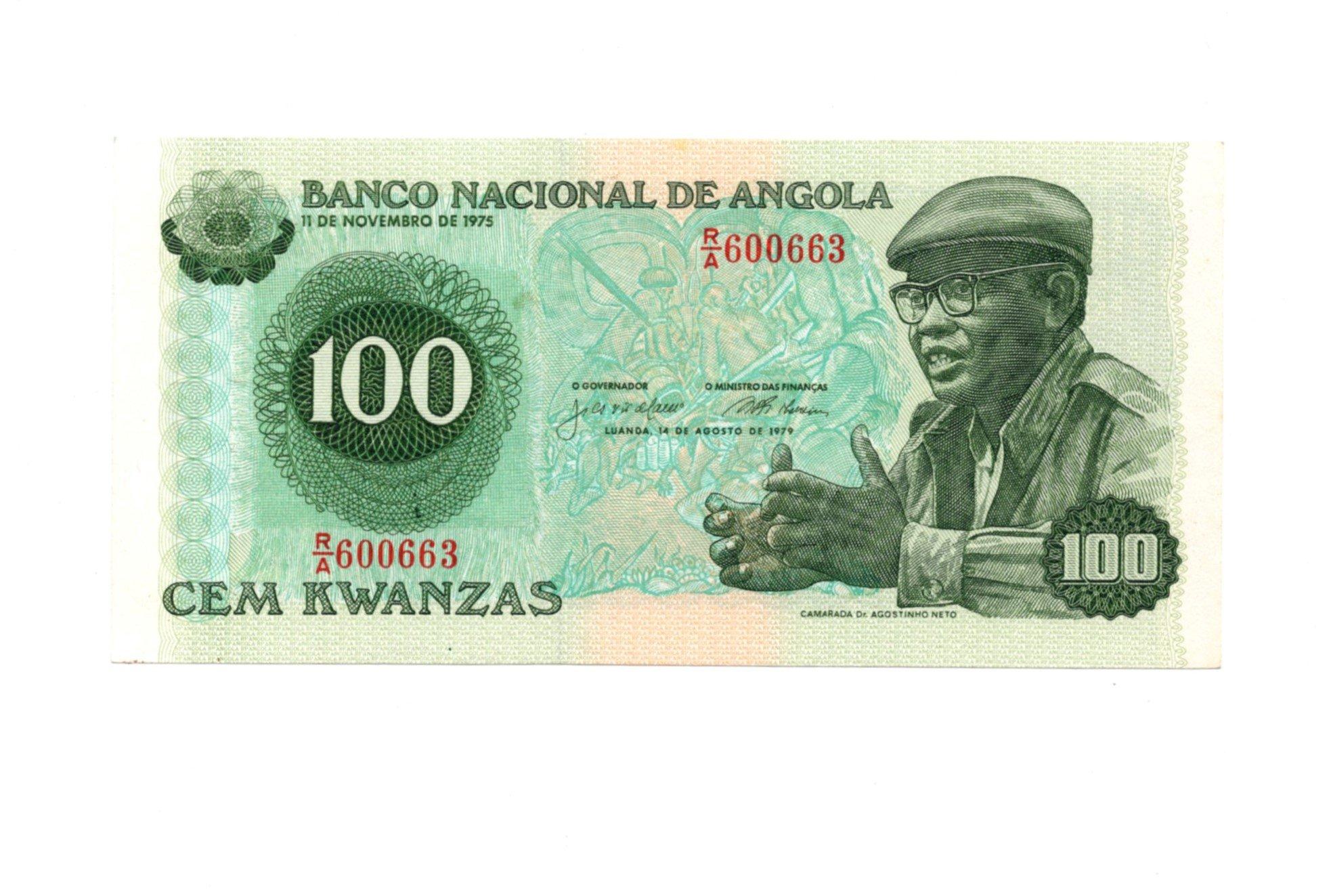 angola 100 kwanzas