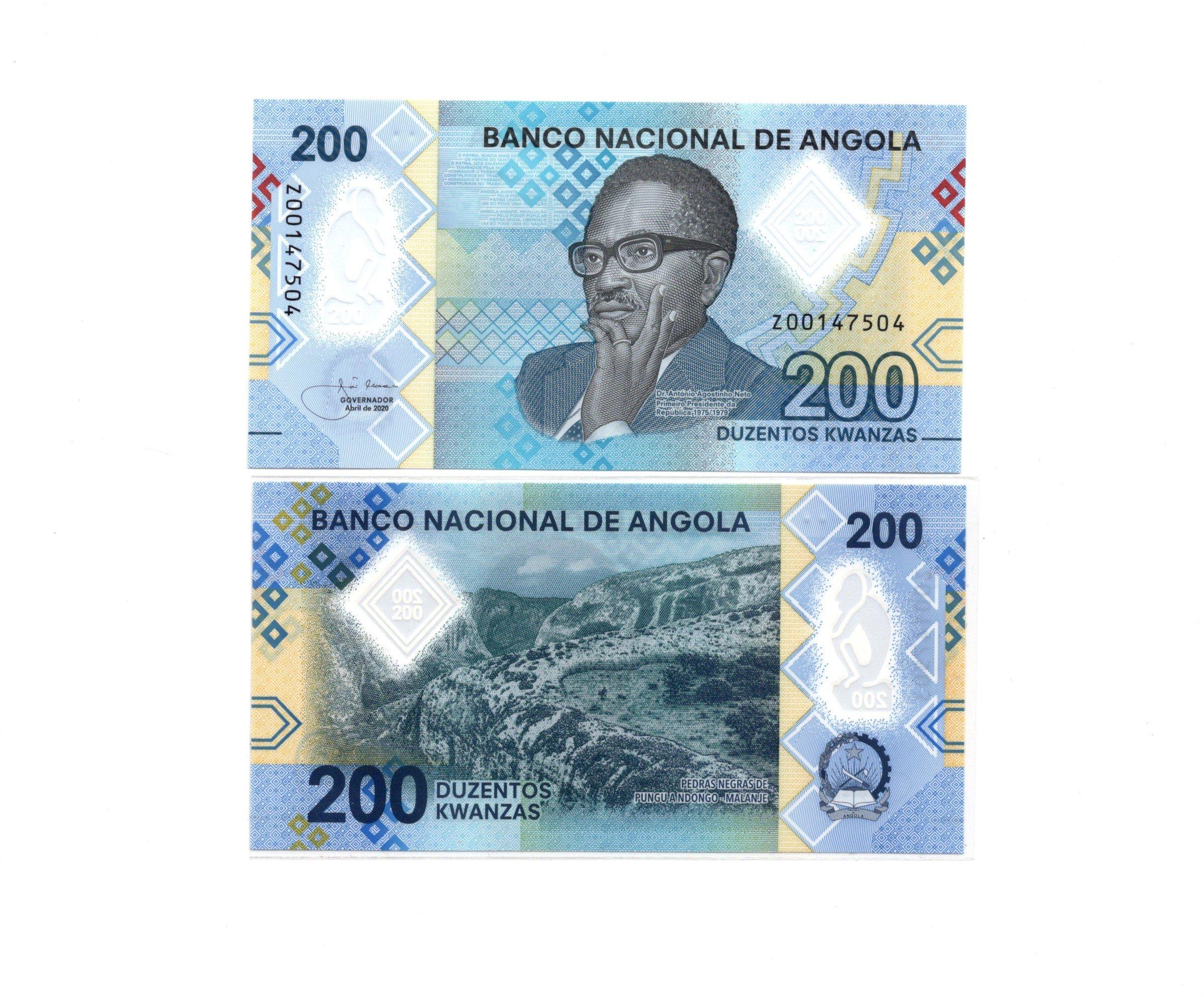 angola 200 kwanzas