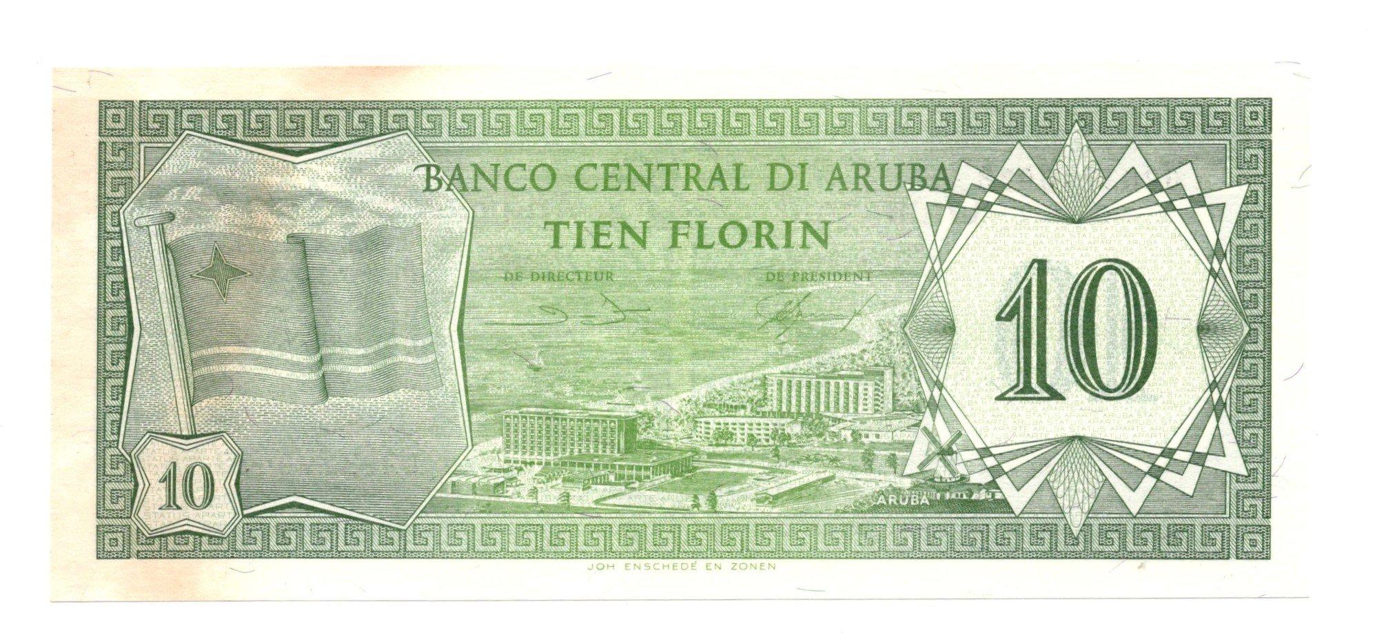 aruba 10 florin