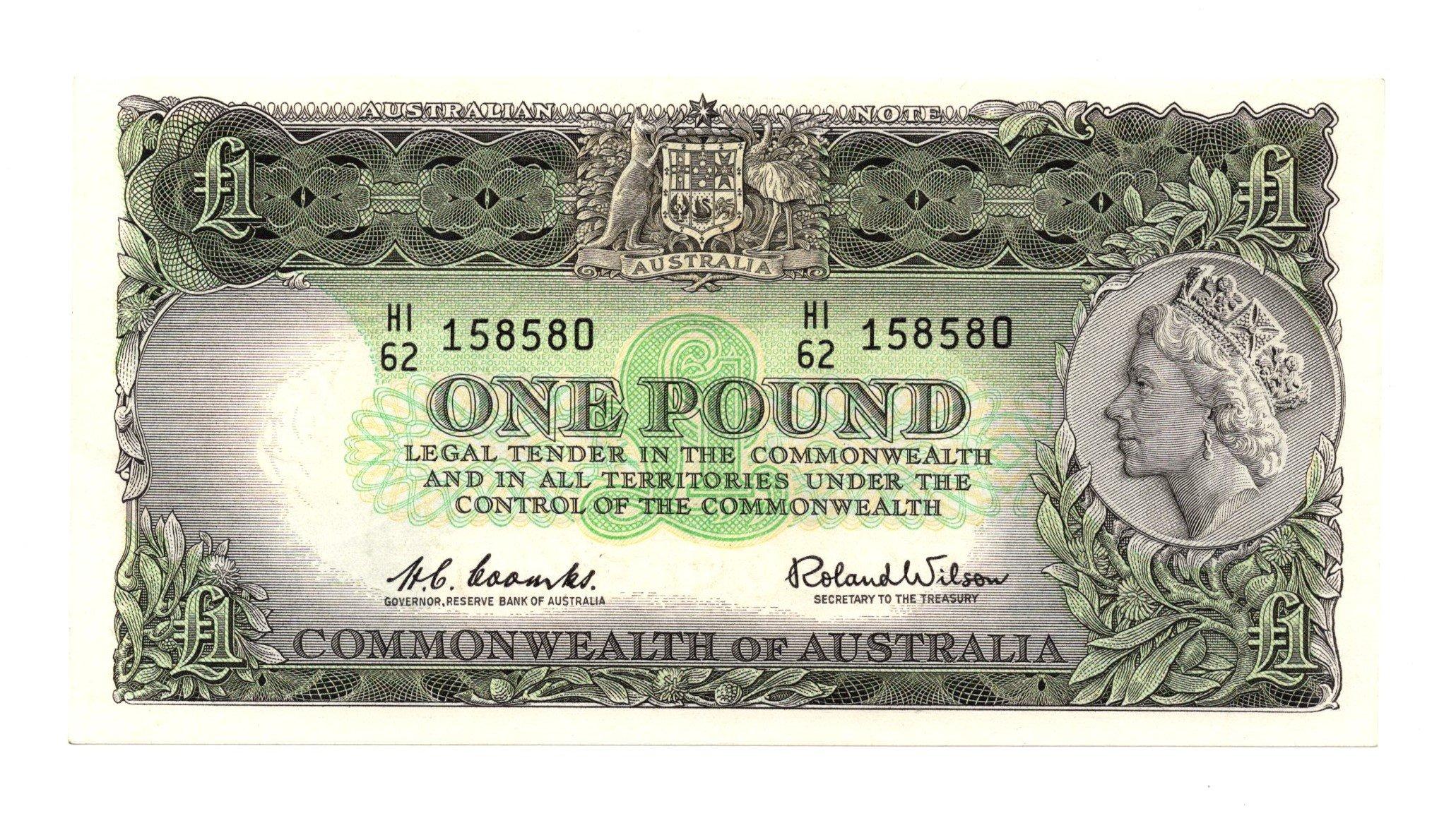 Australia 1 pound