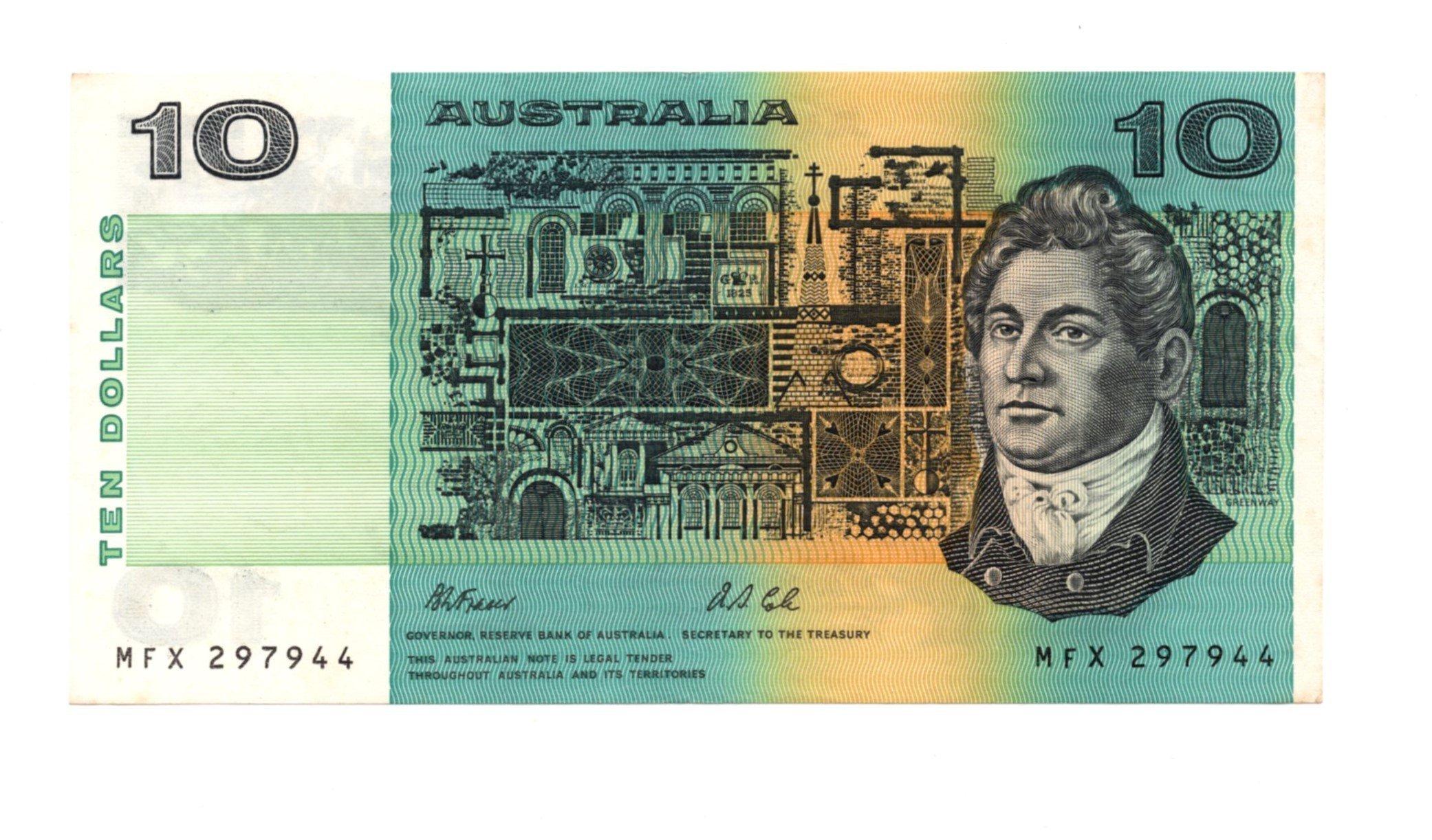 australia 10 dollars