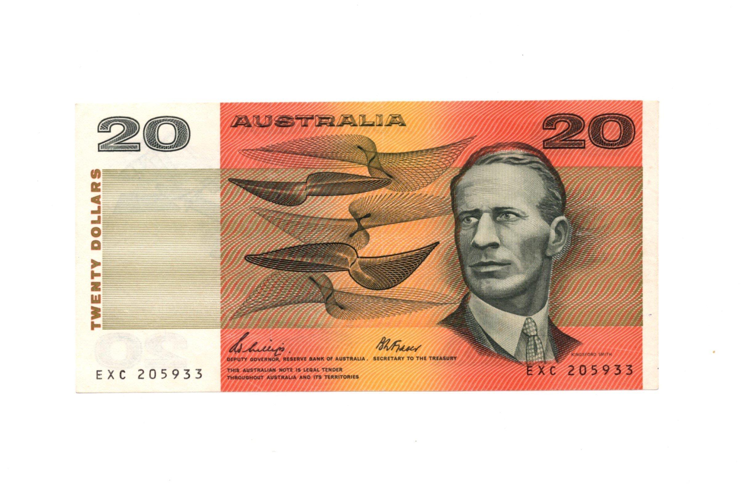 australia 20 dolalrs