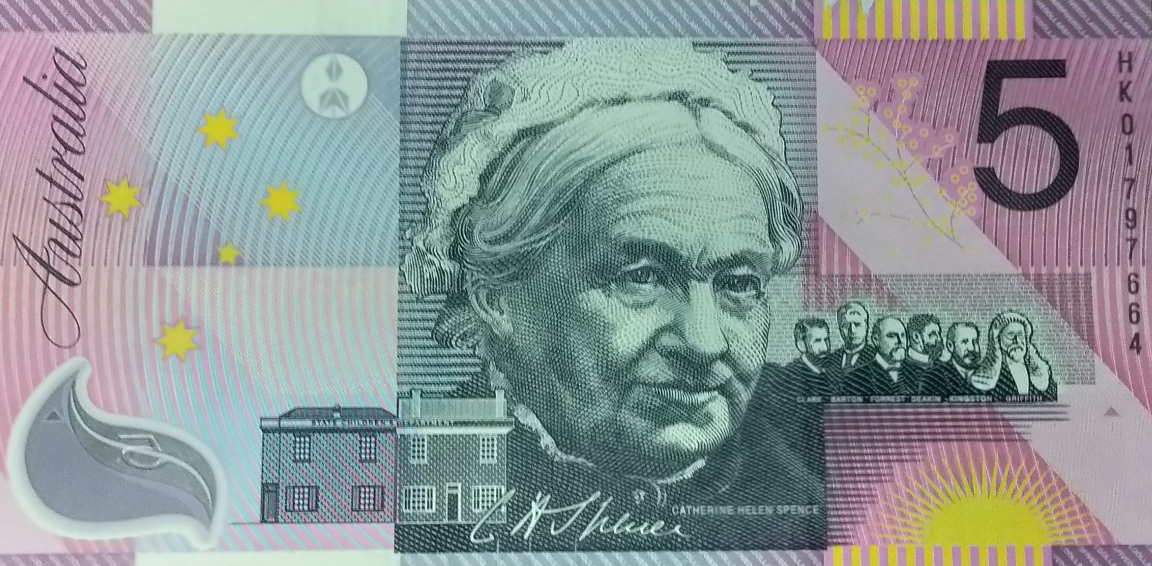 Australia 5 dollars millenium banknote for sale