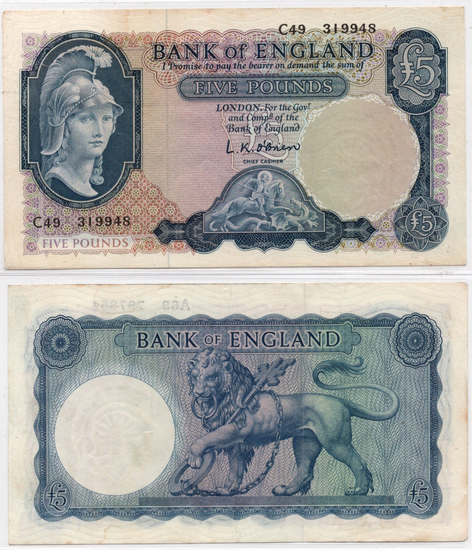 Great britain 5 pounds