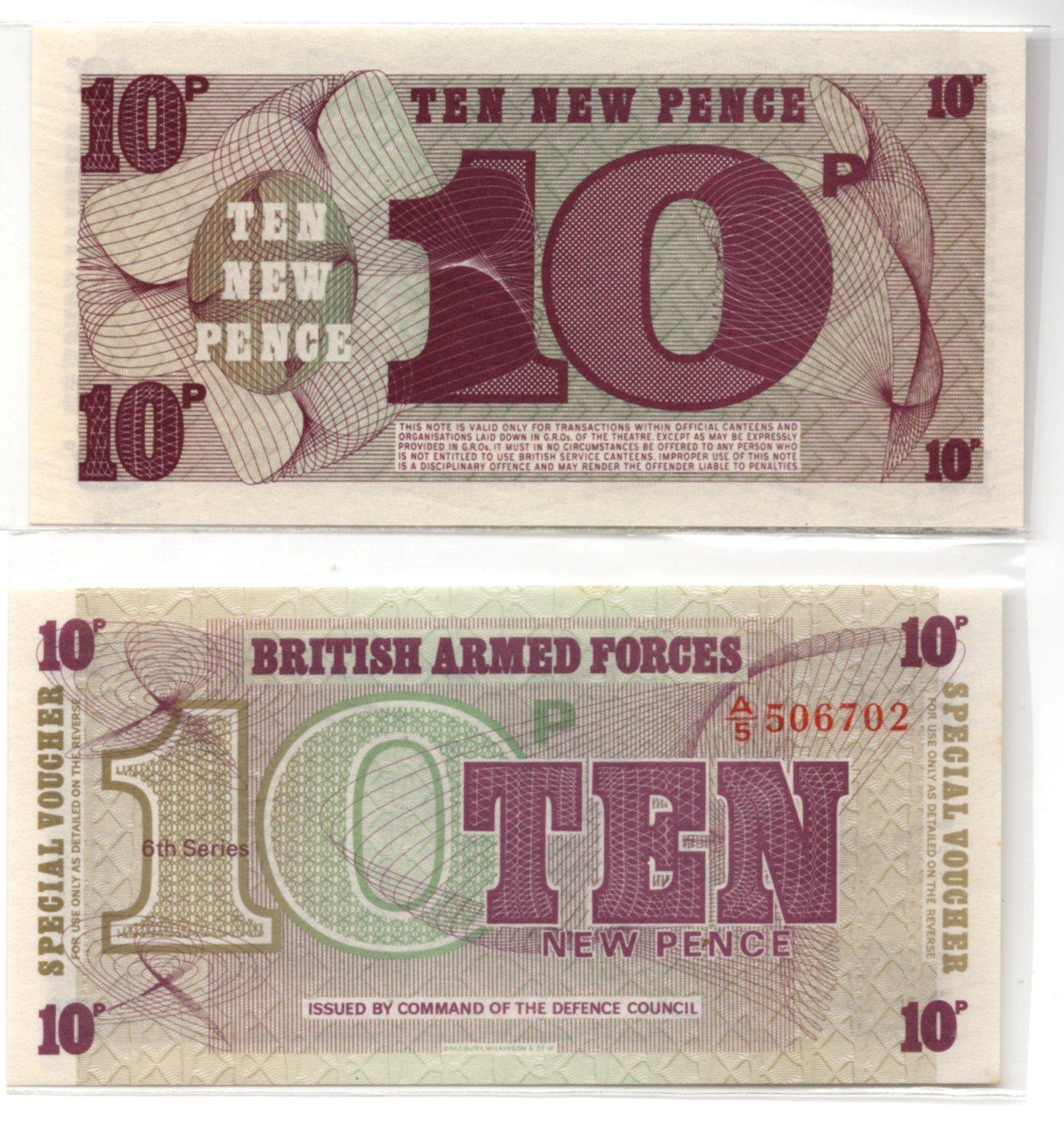BAF 10 new pence