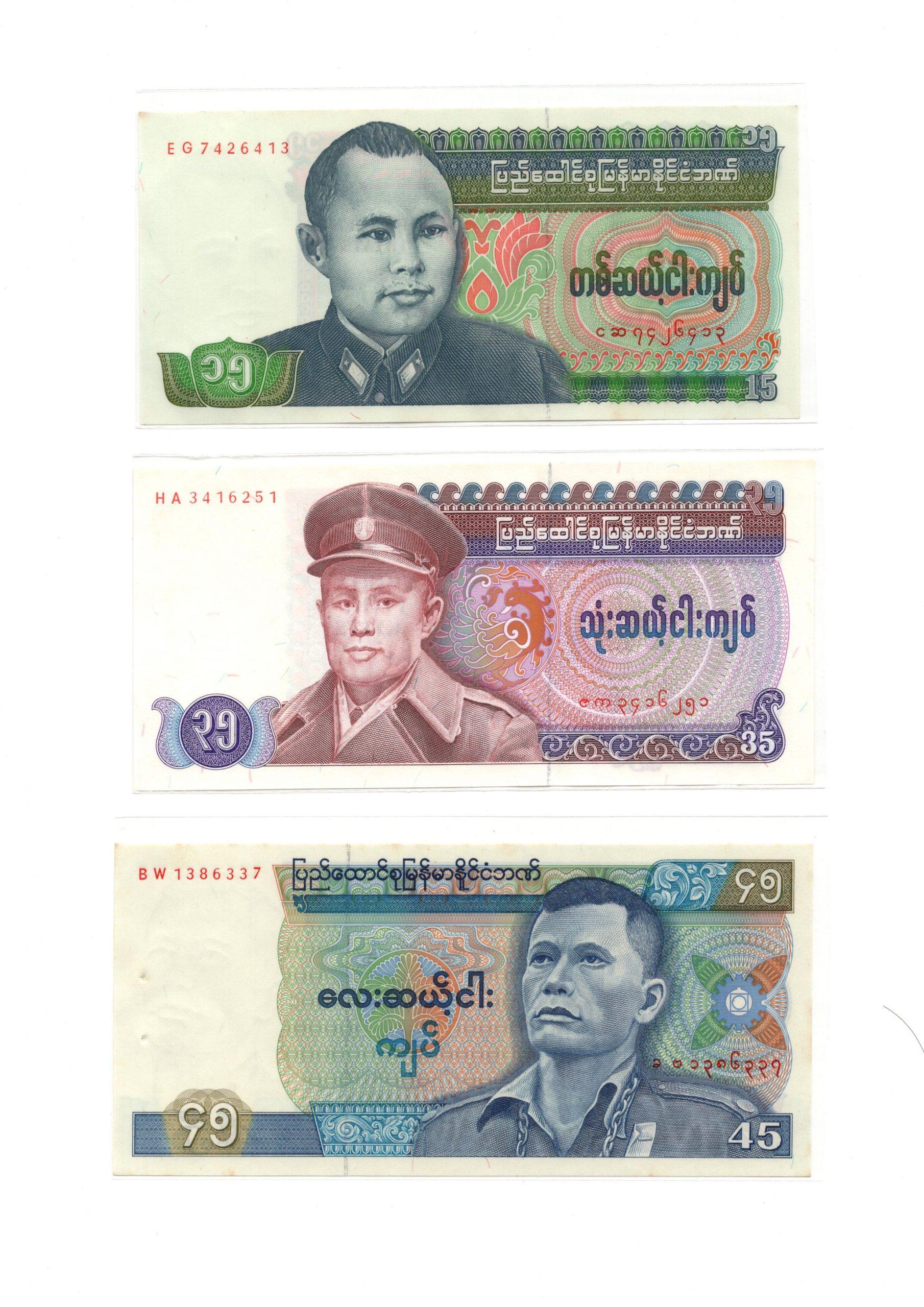Burma set 3