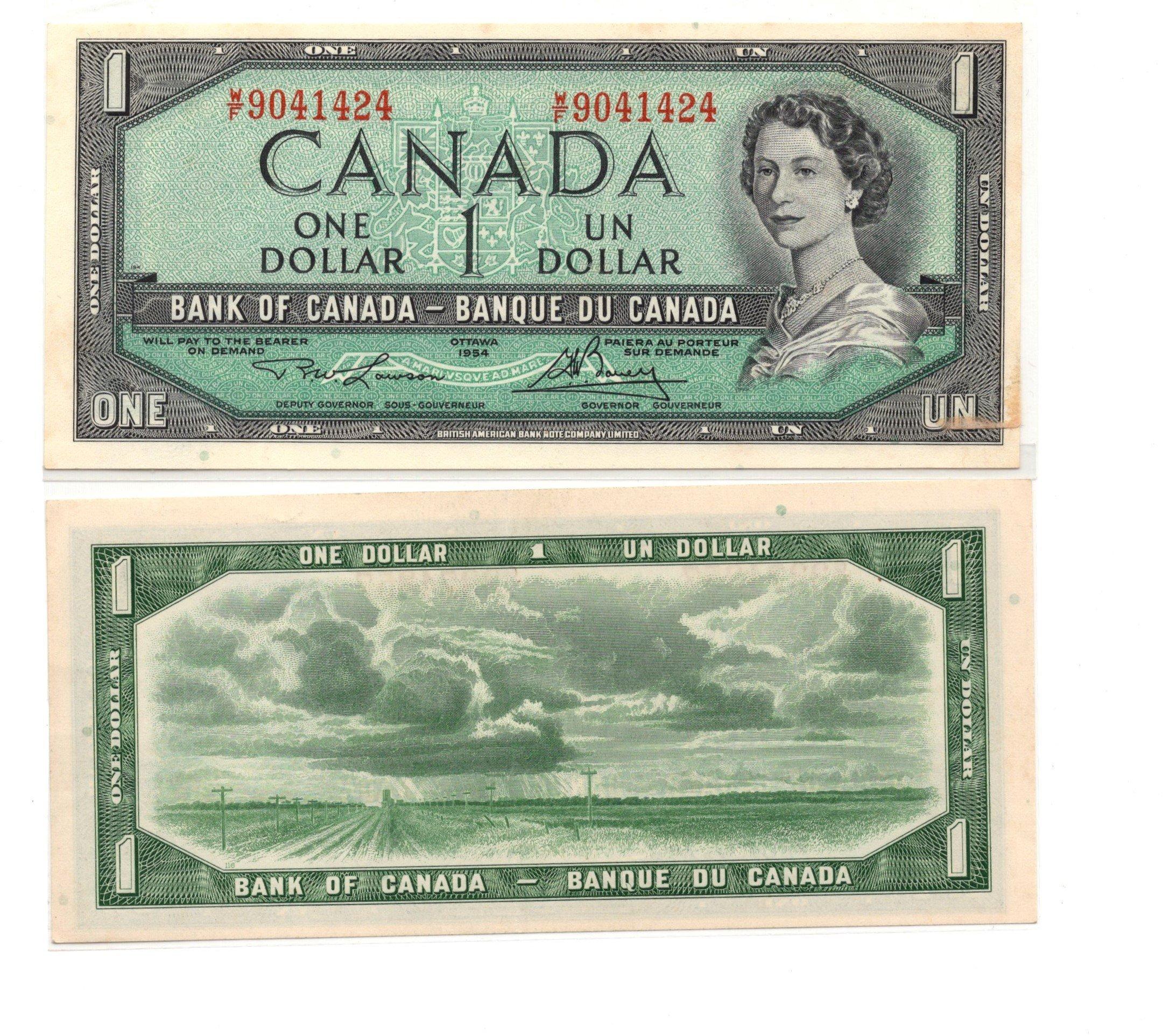 Canada 1 dollar 1964