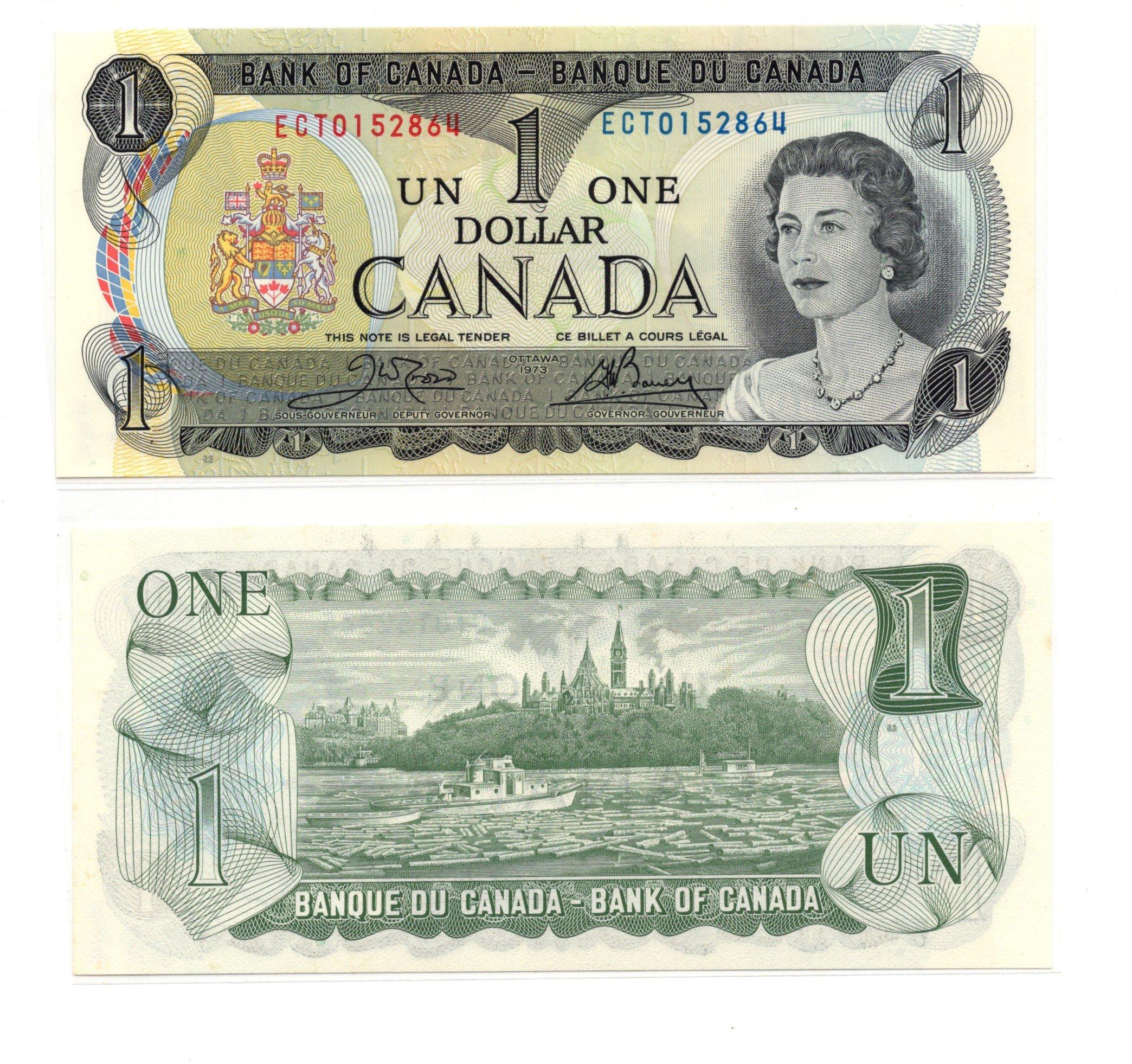 Canada 1 dollar 1974