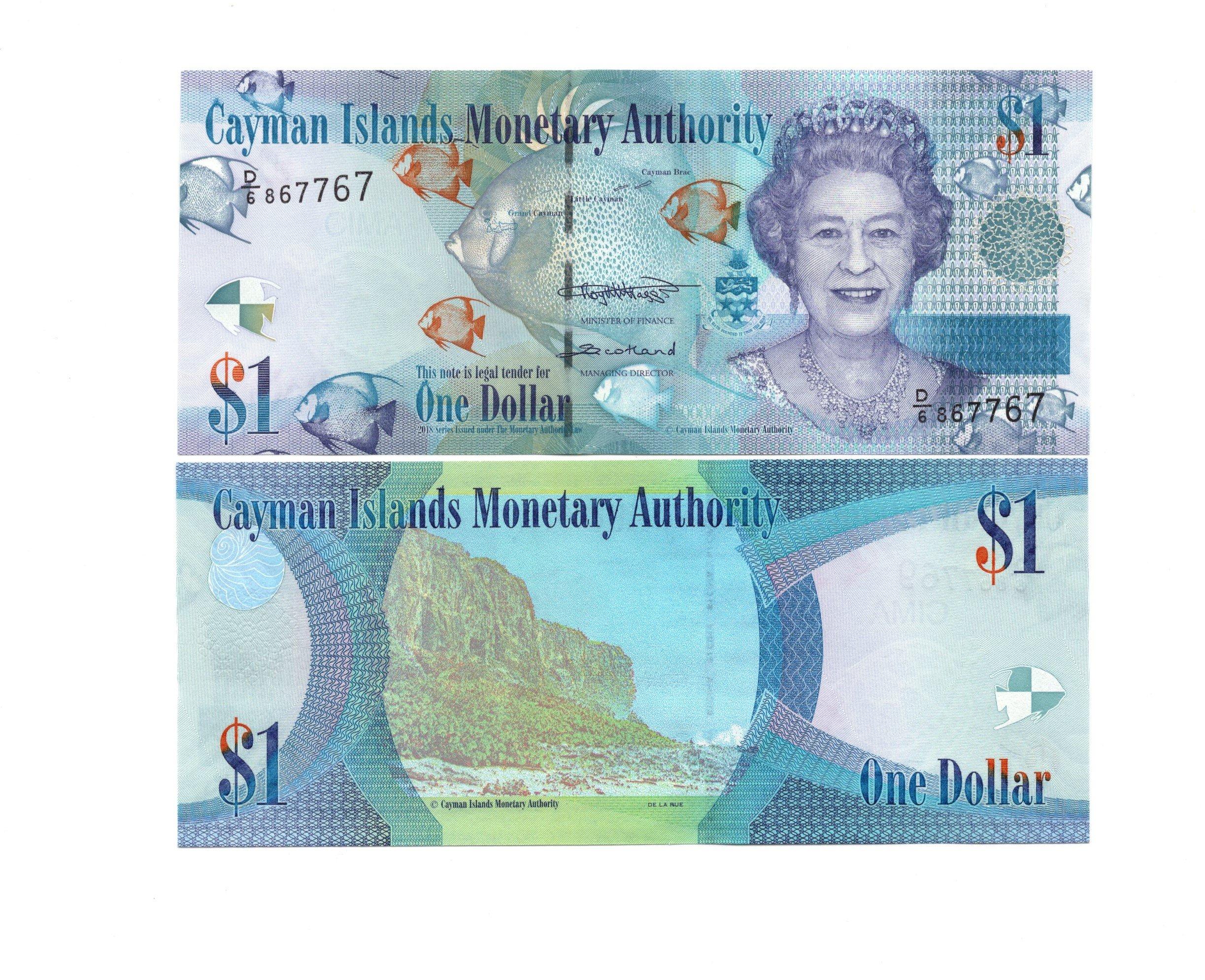 Cayman 1 dollar