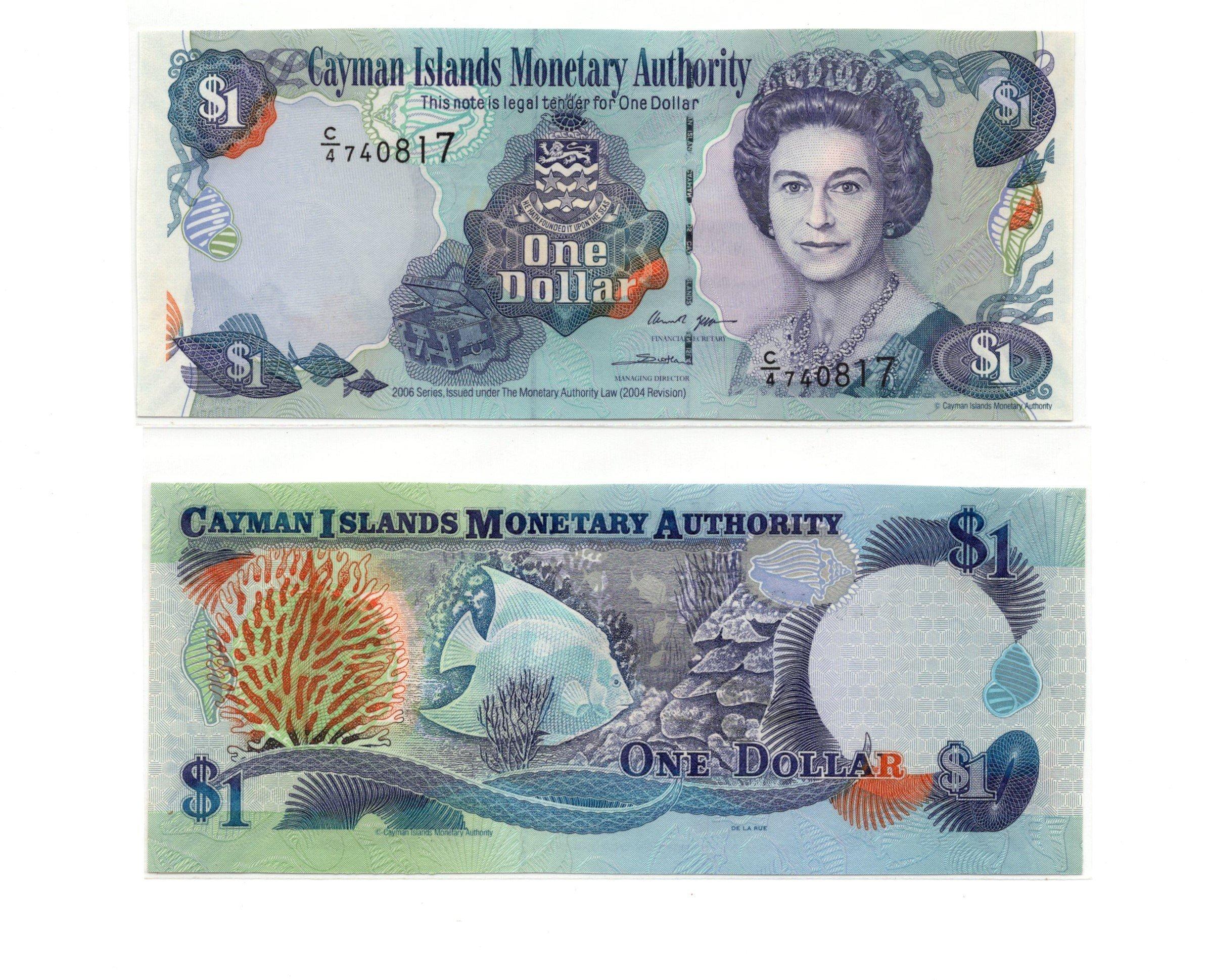 Cayman 1 dollar 2006