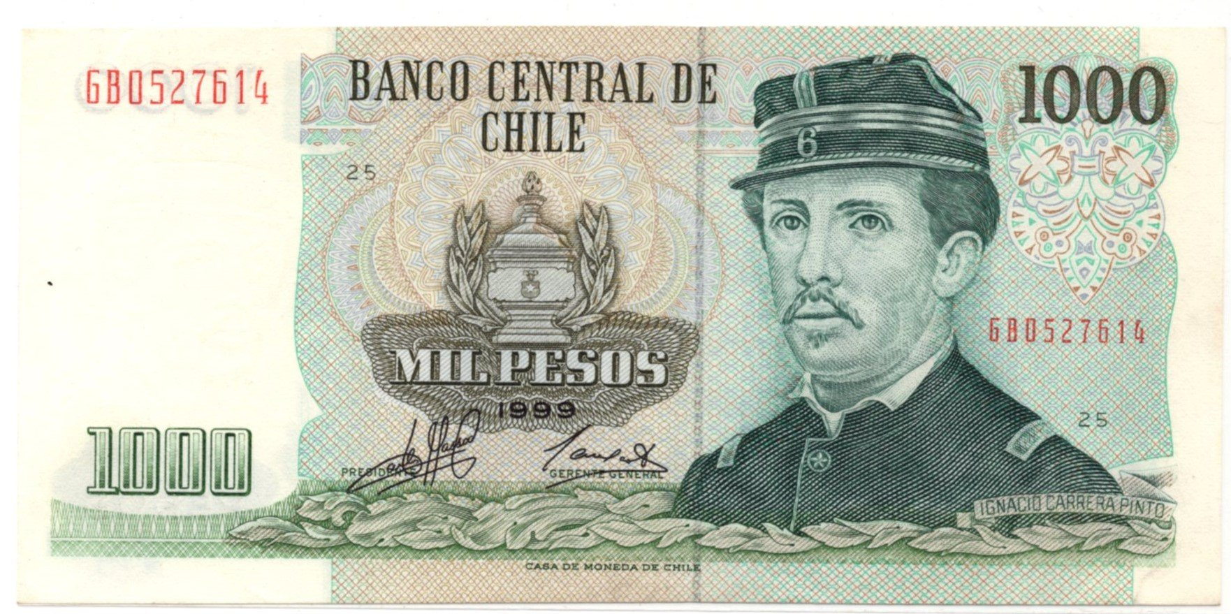 chile 1000 pesos 1999