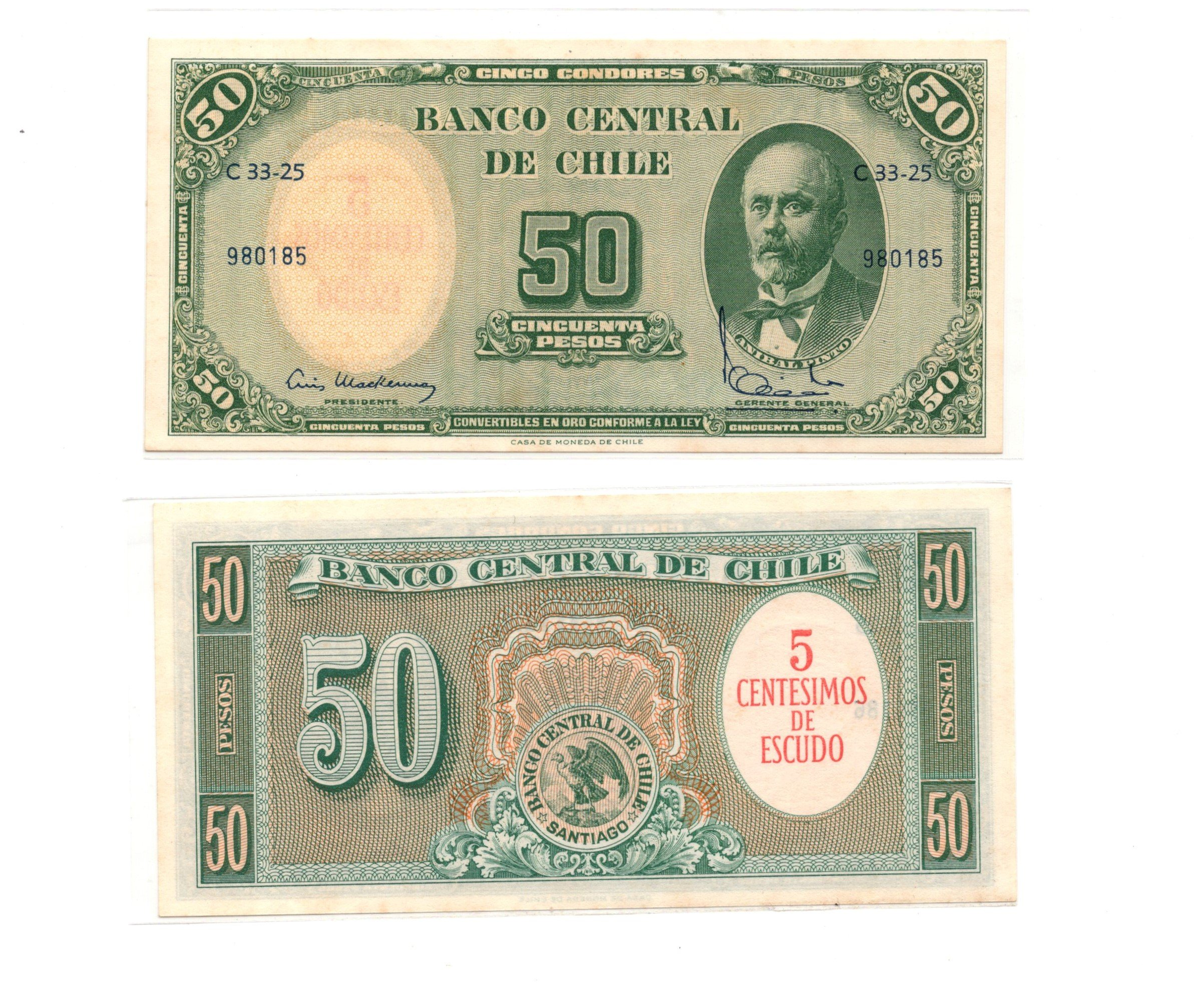 chile 50 pesos