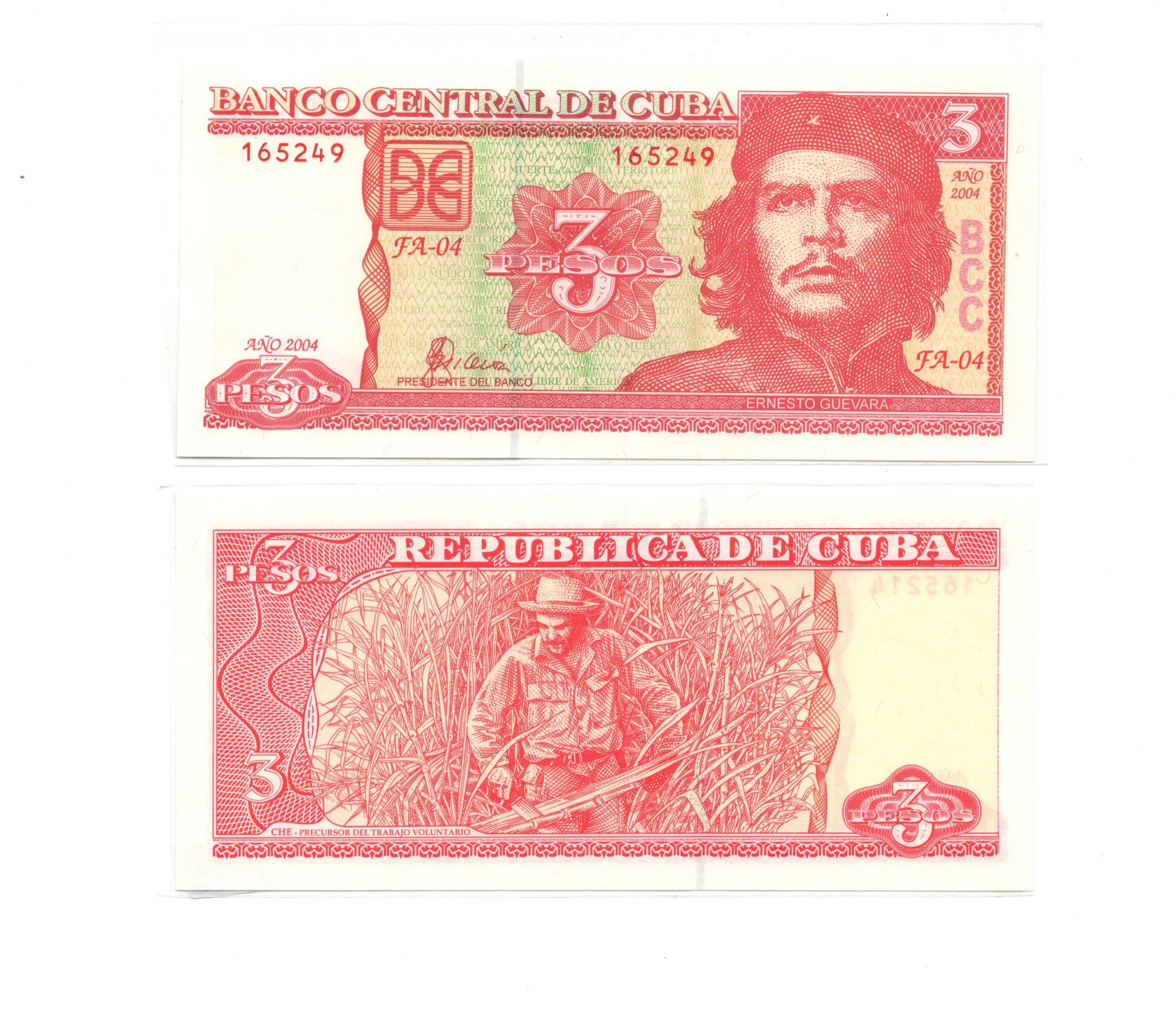 cuba 3 pesos