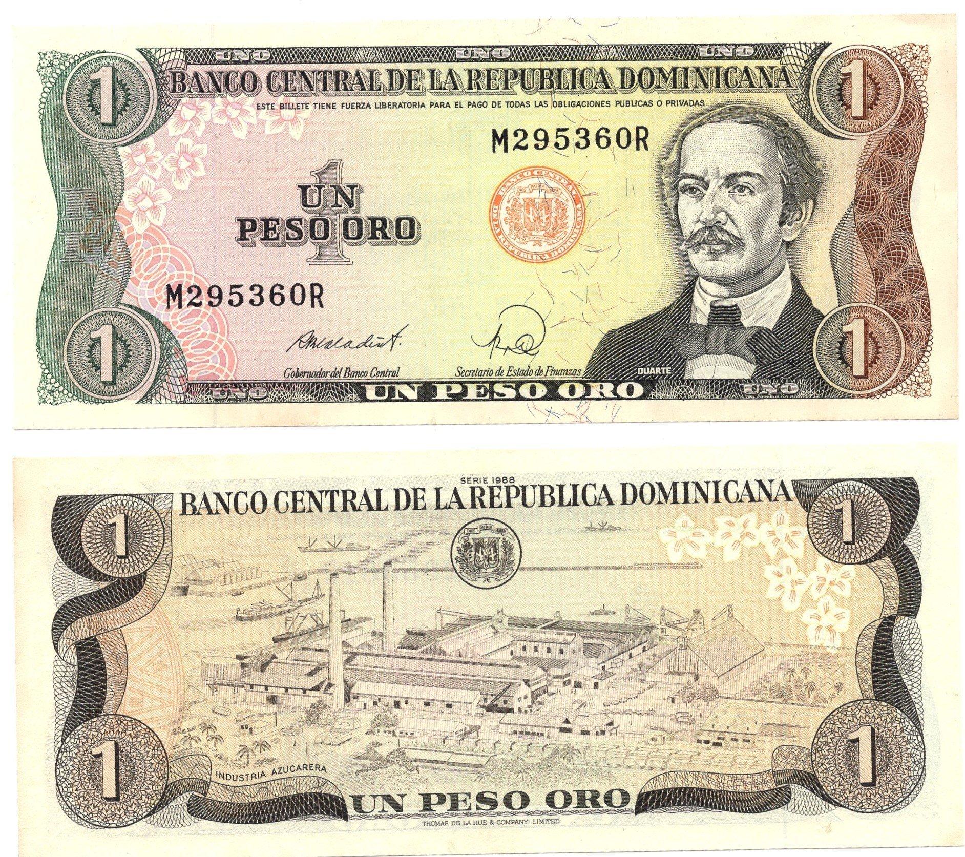 dominican republic 1 peso