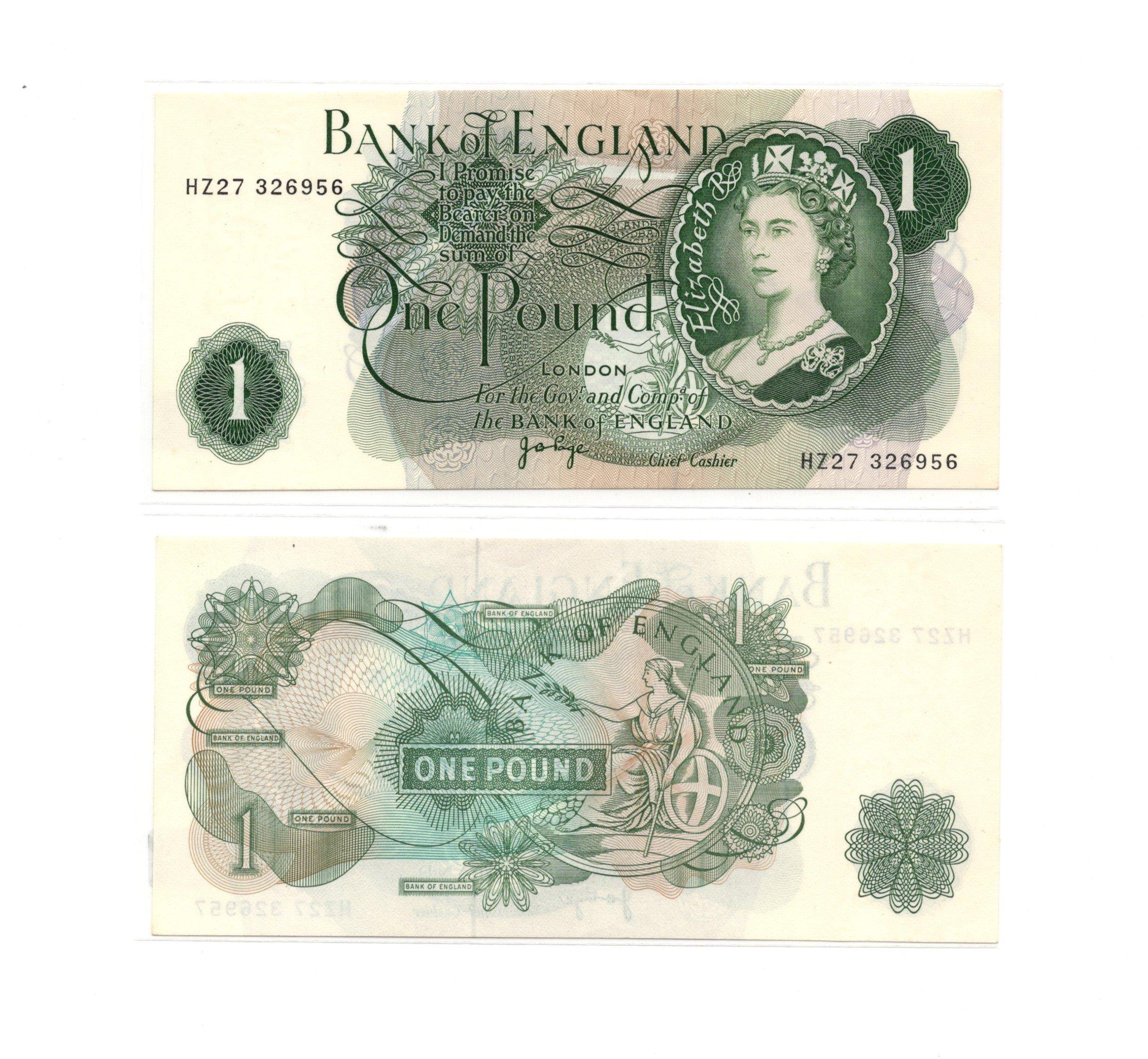 England 1 pound
