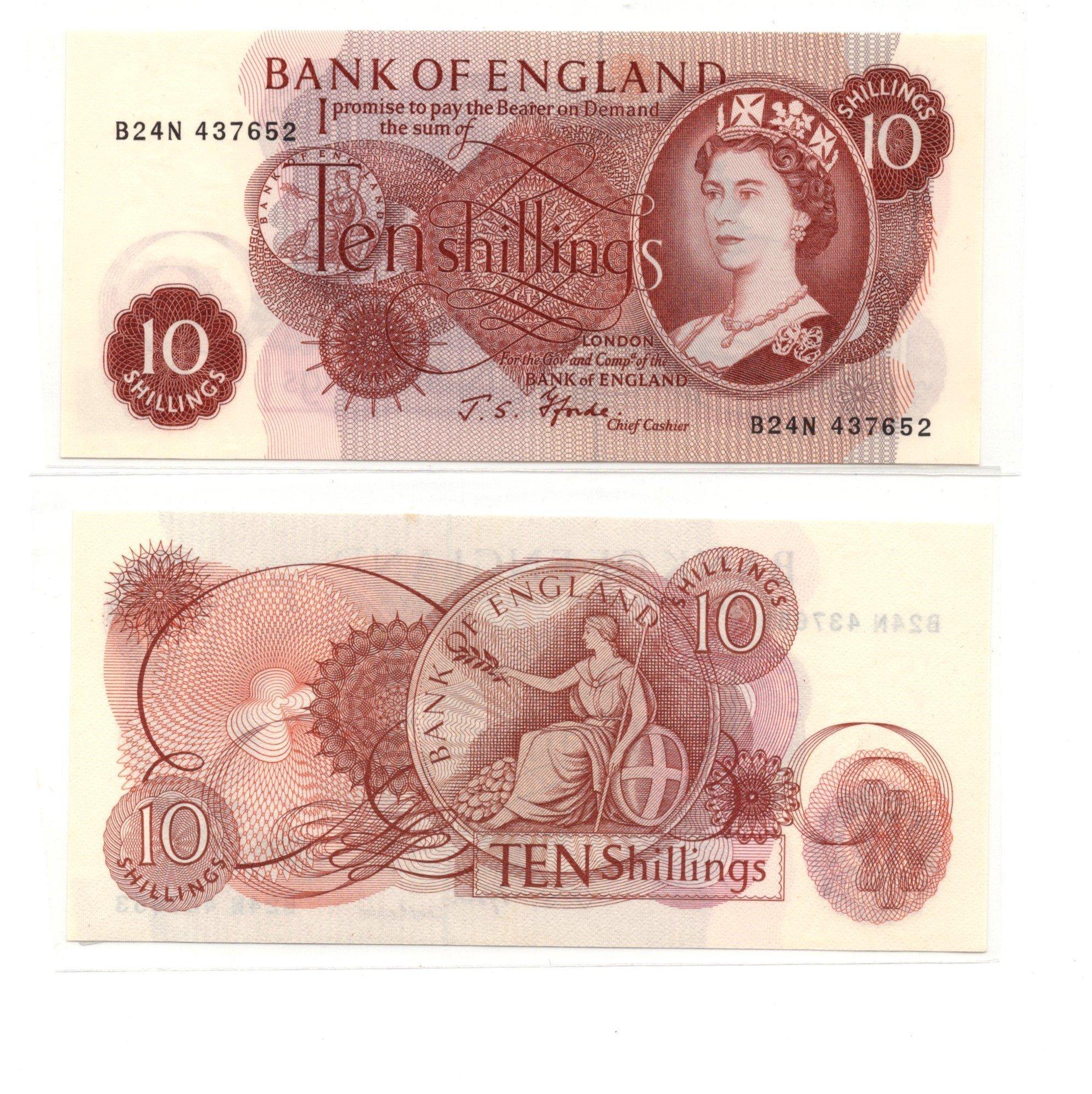 england 10 shillings