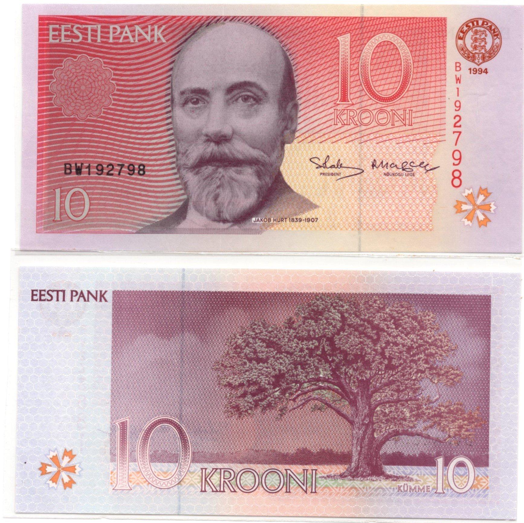 estonia 10 krooni