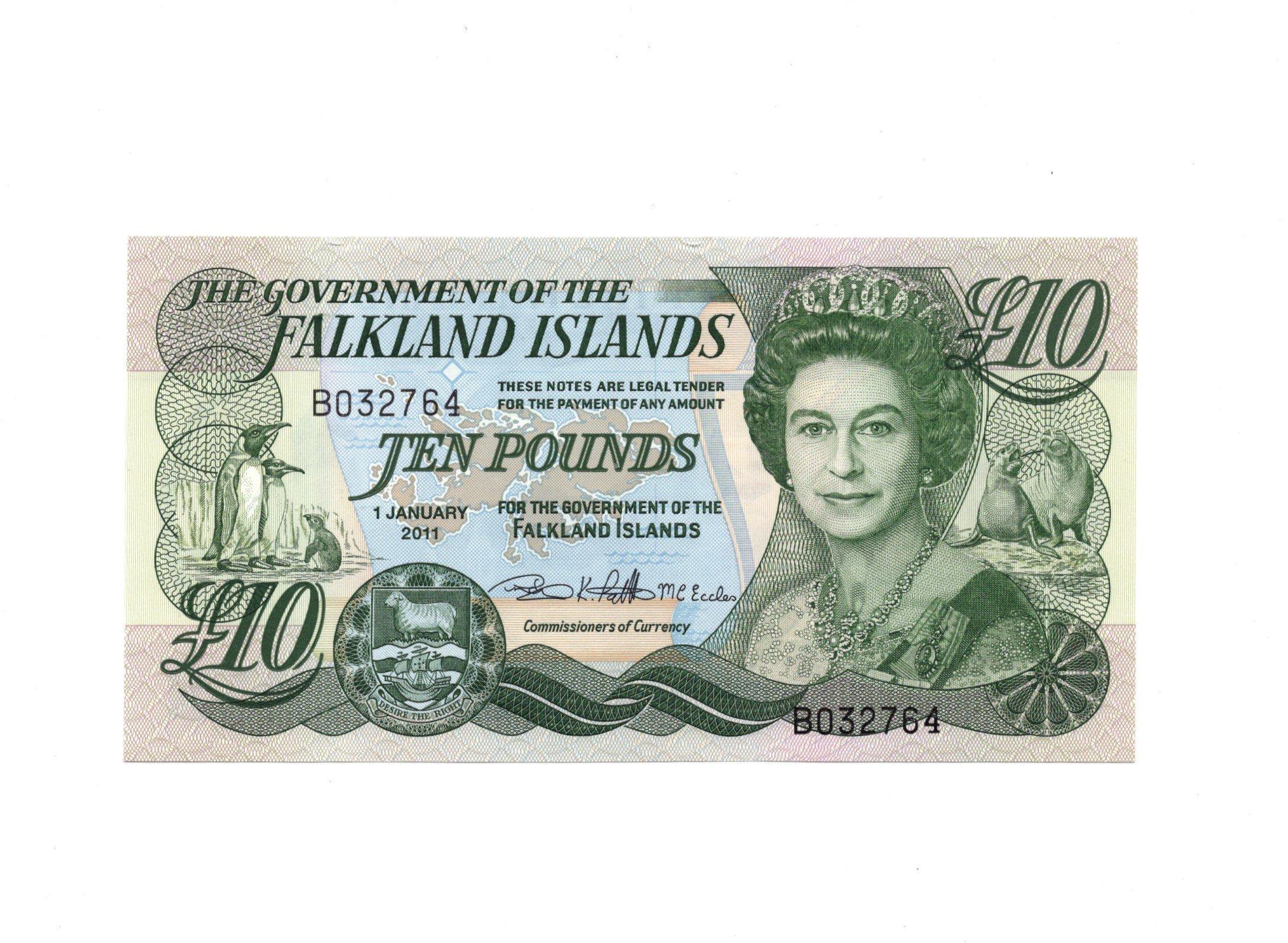 Falkland 10 pounds