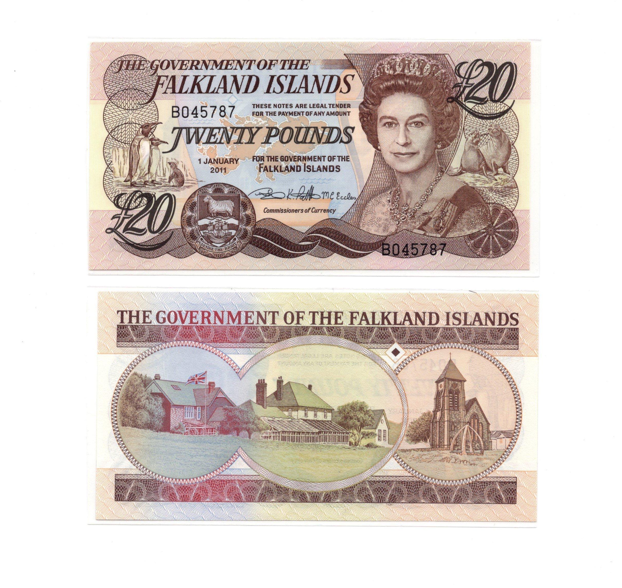 Falkland 20 pounds