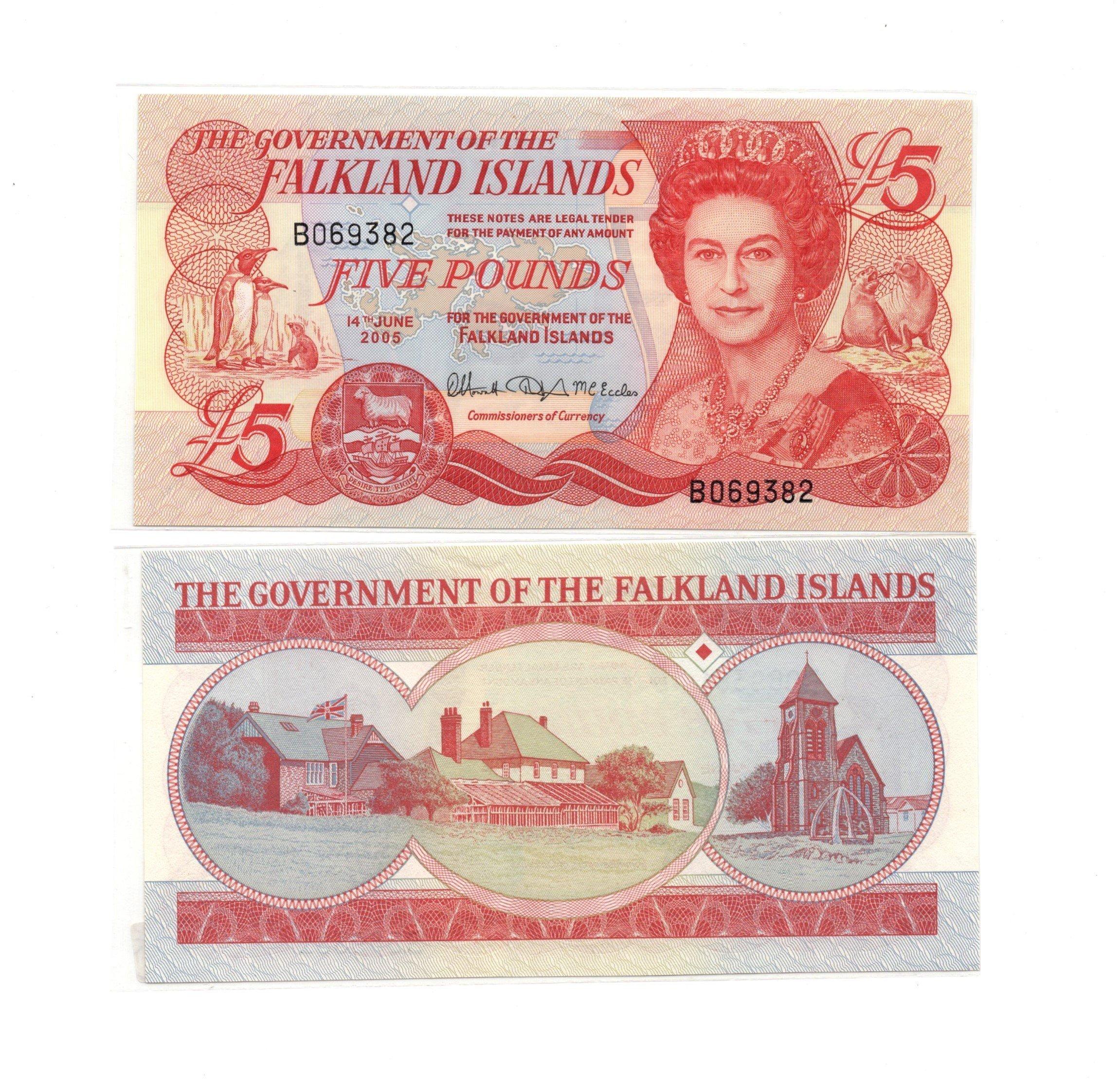 Falkland 5 pounds