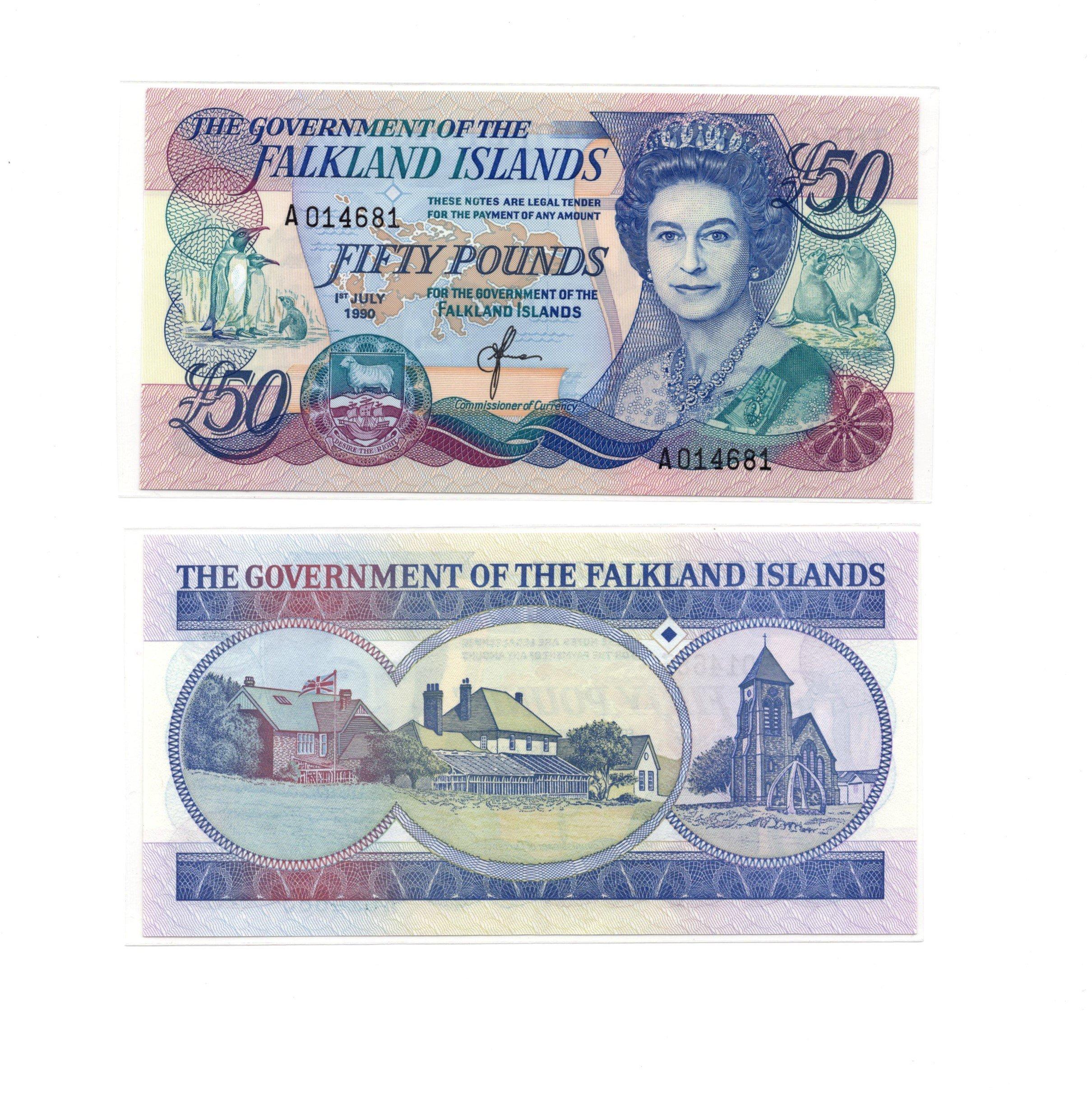 Falkland 50 pounds