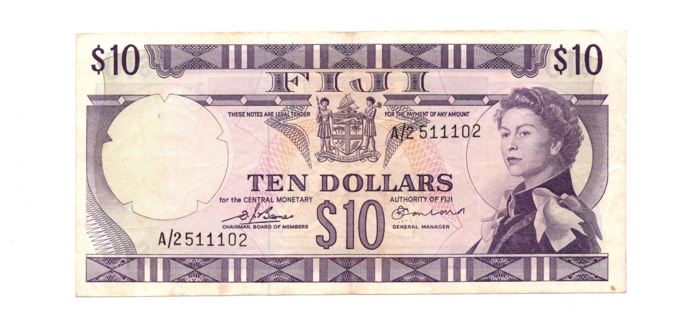 Fiji 10 dollars