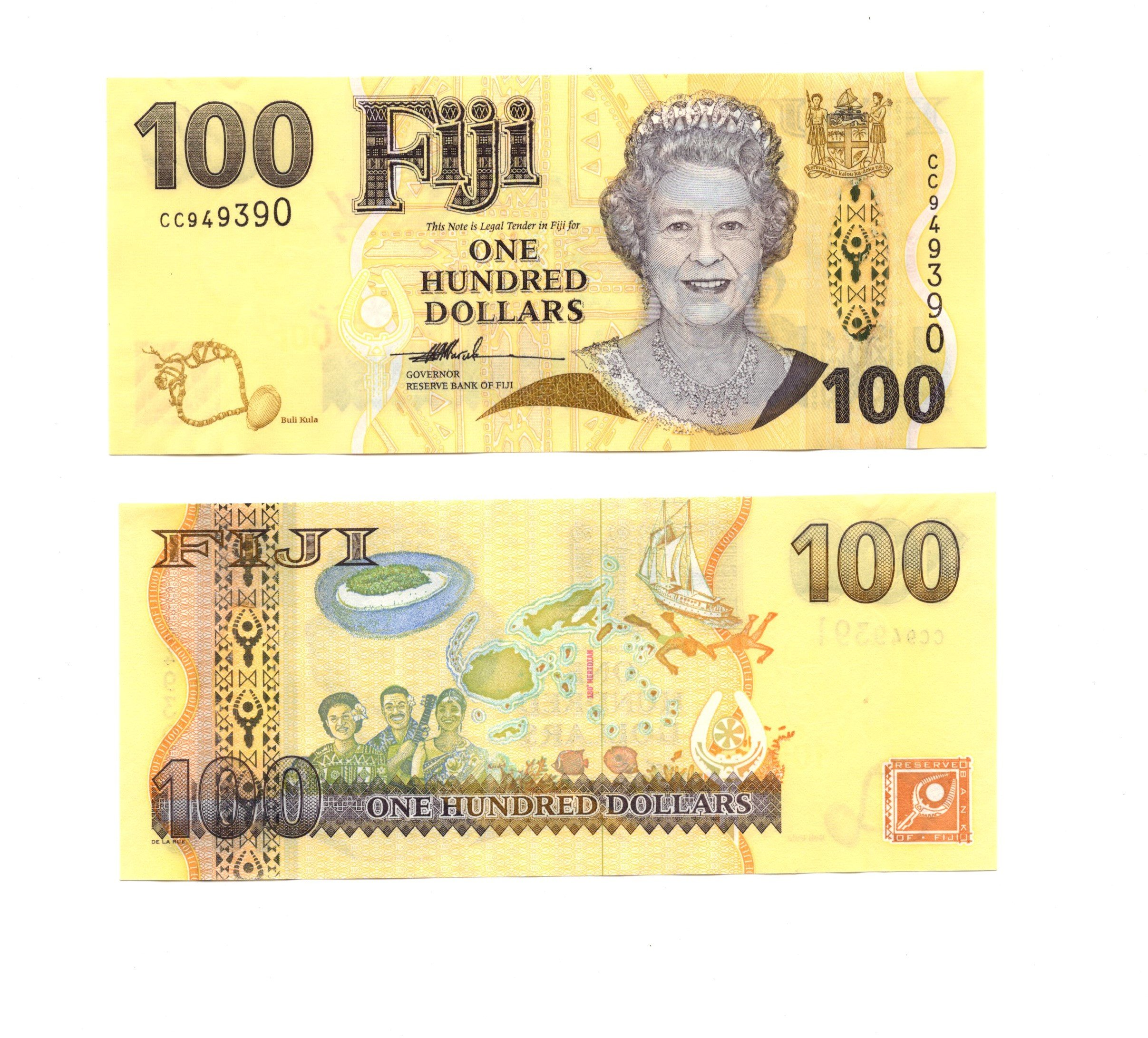 Fiji 100 dollars
