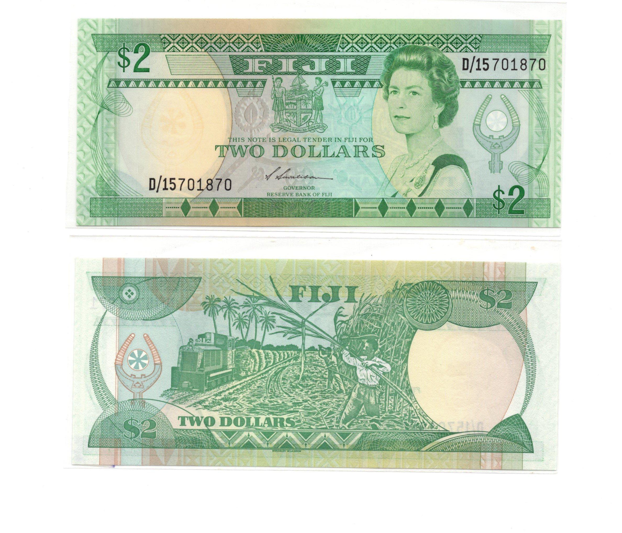 Fiji 2 dollars