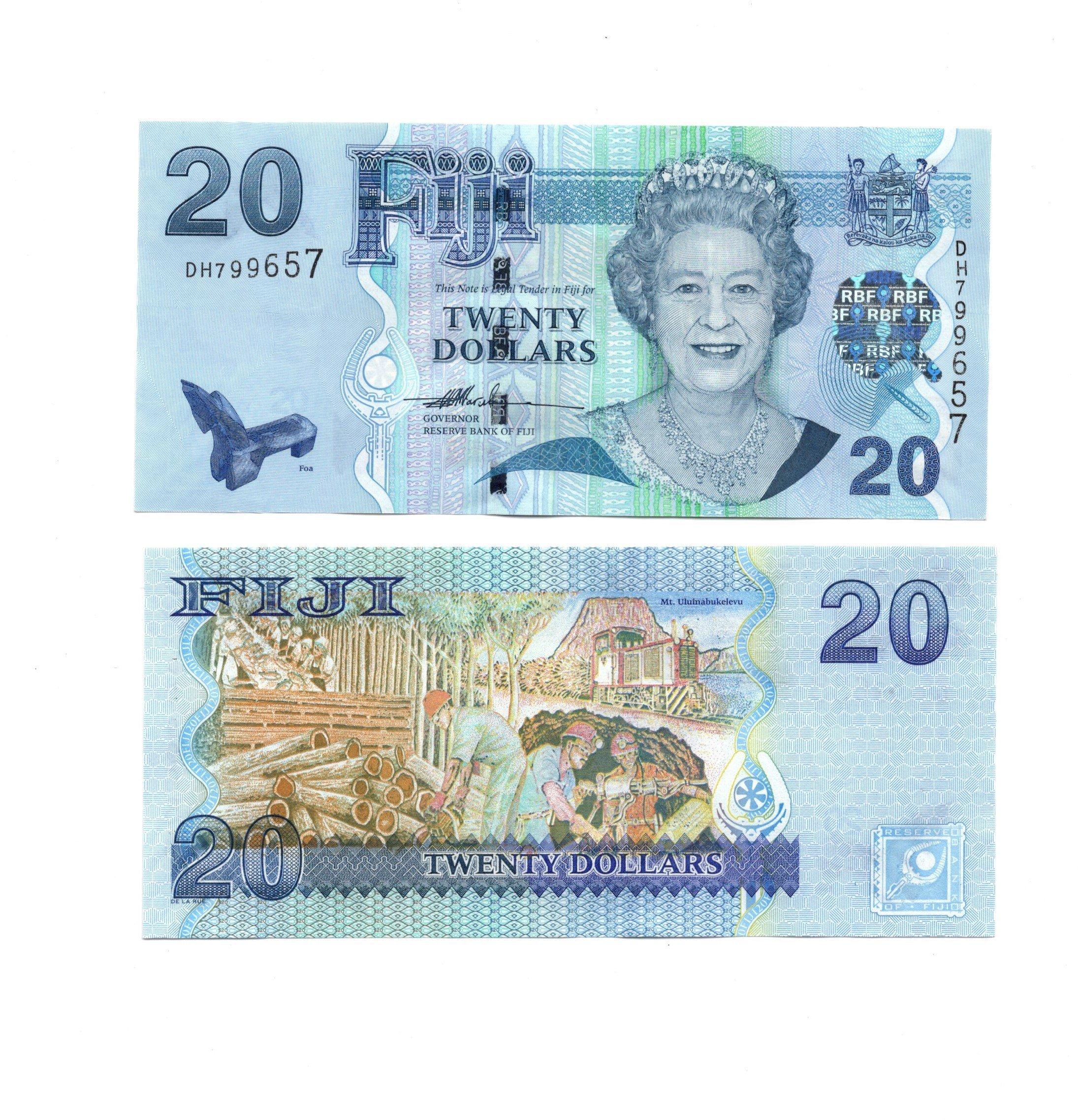 Fiji 20 dollars 2007