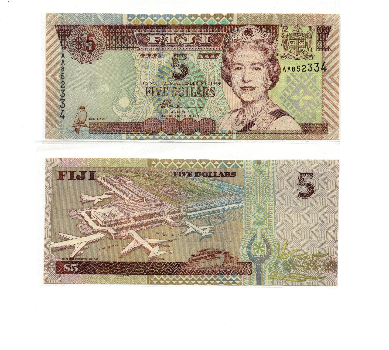 Fiji 5 dollars 2007