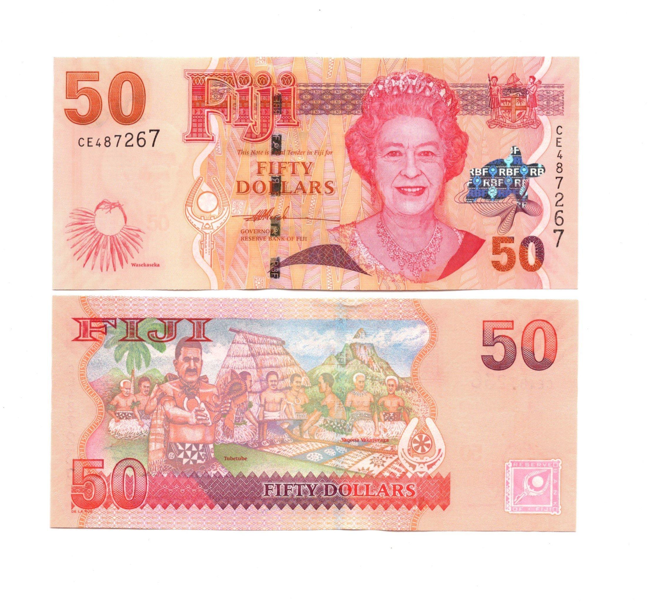 Fiji 50 dollars