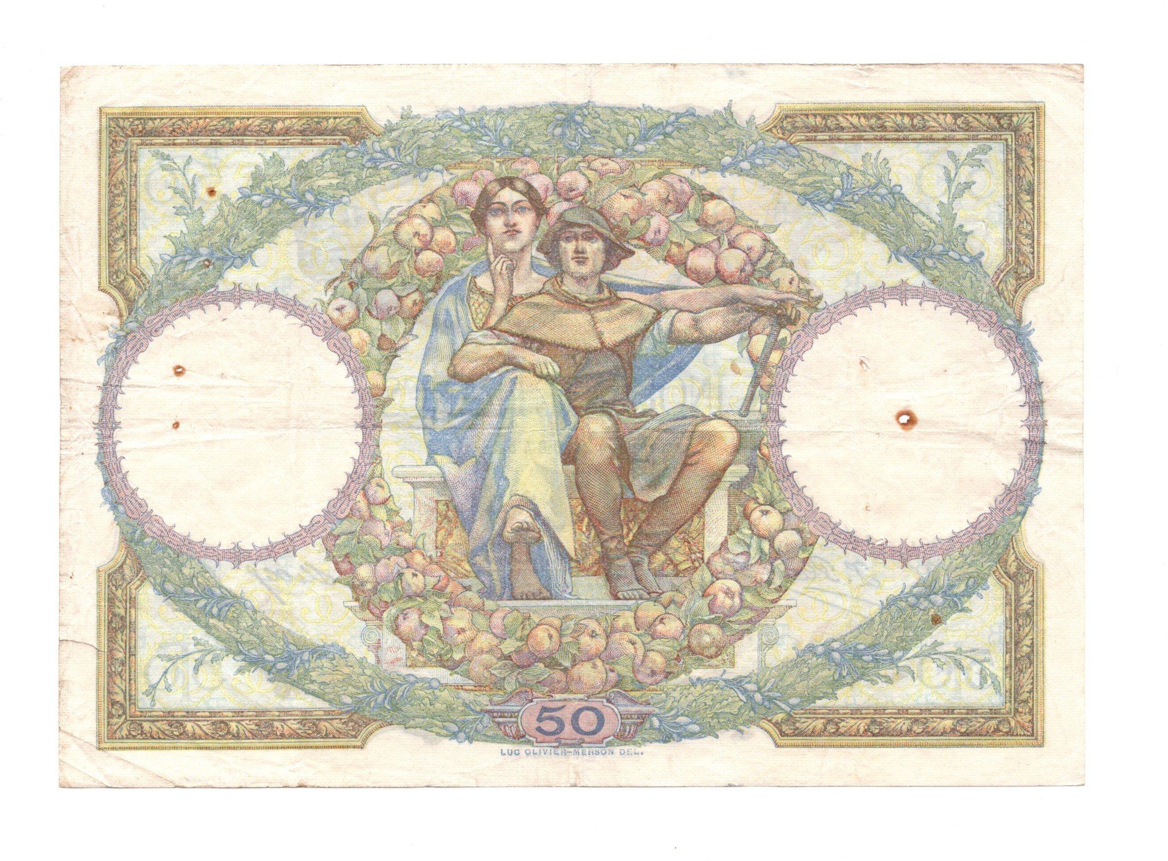France 50 francs 1927