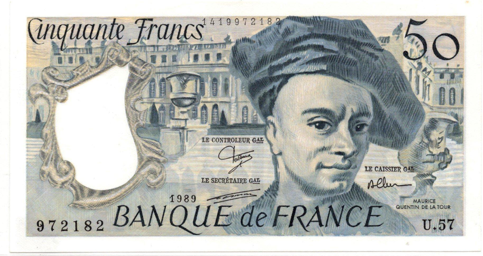 france 50 francs 1989