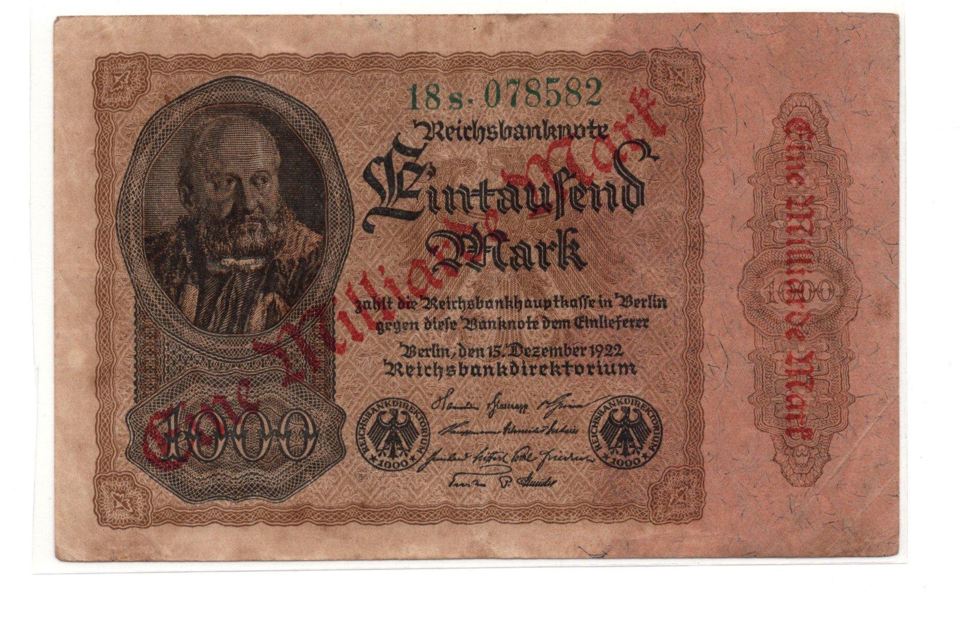 Germany 1000 marks 1922