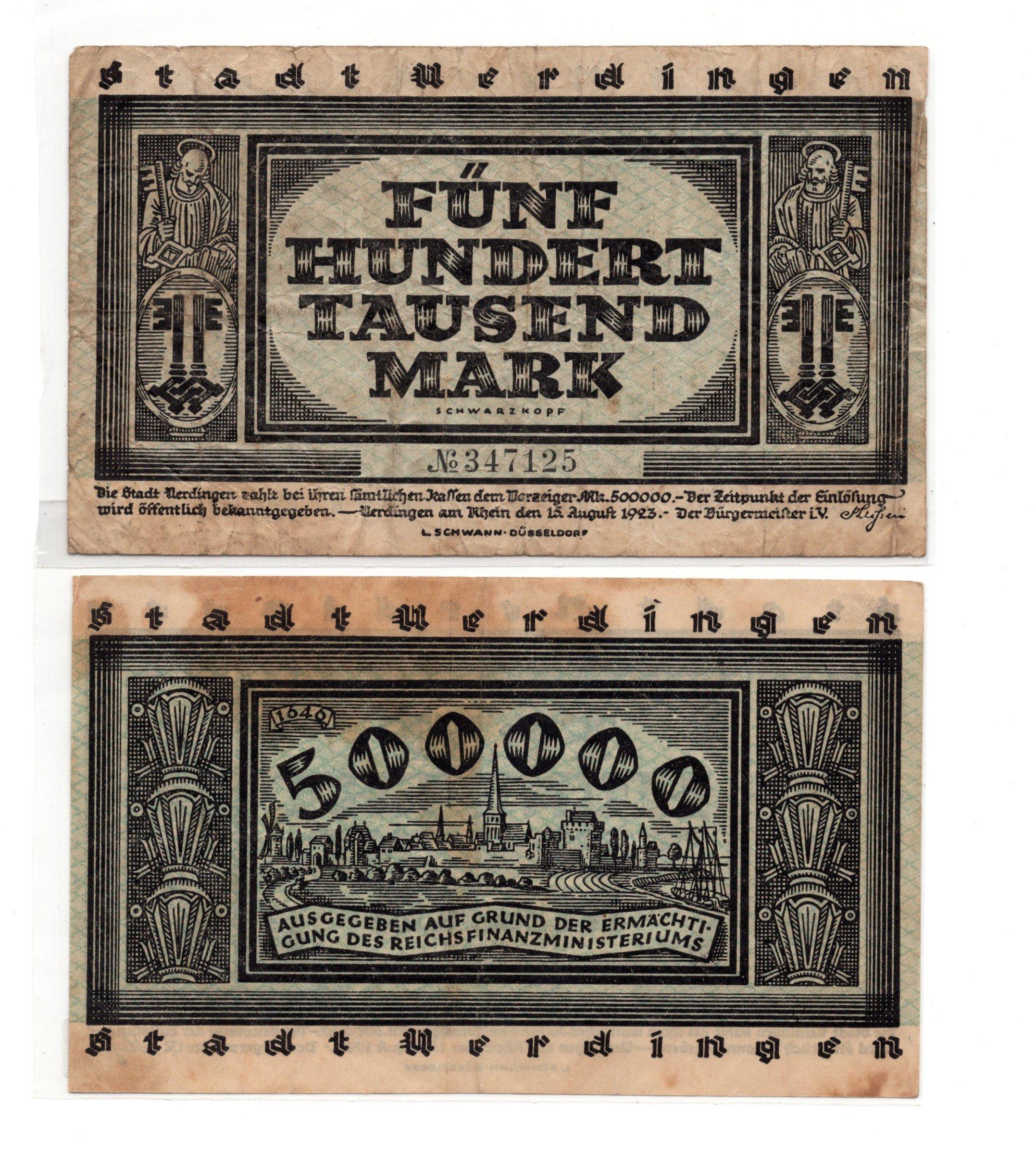 Germany 50000 mark 1923