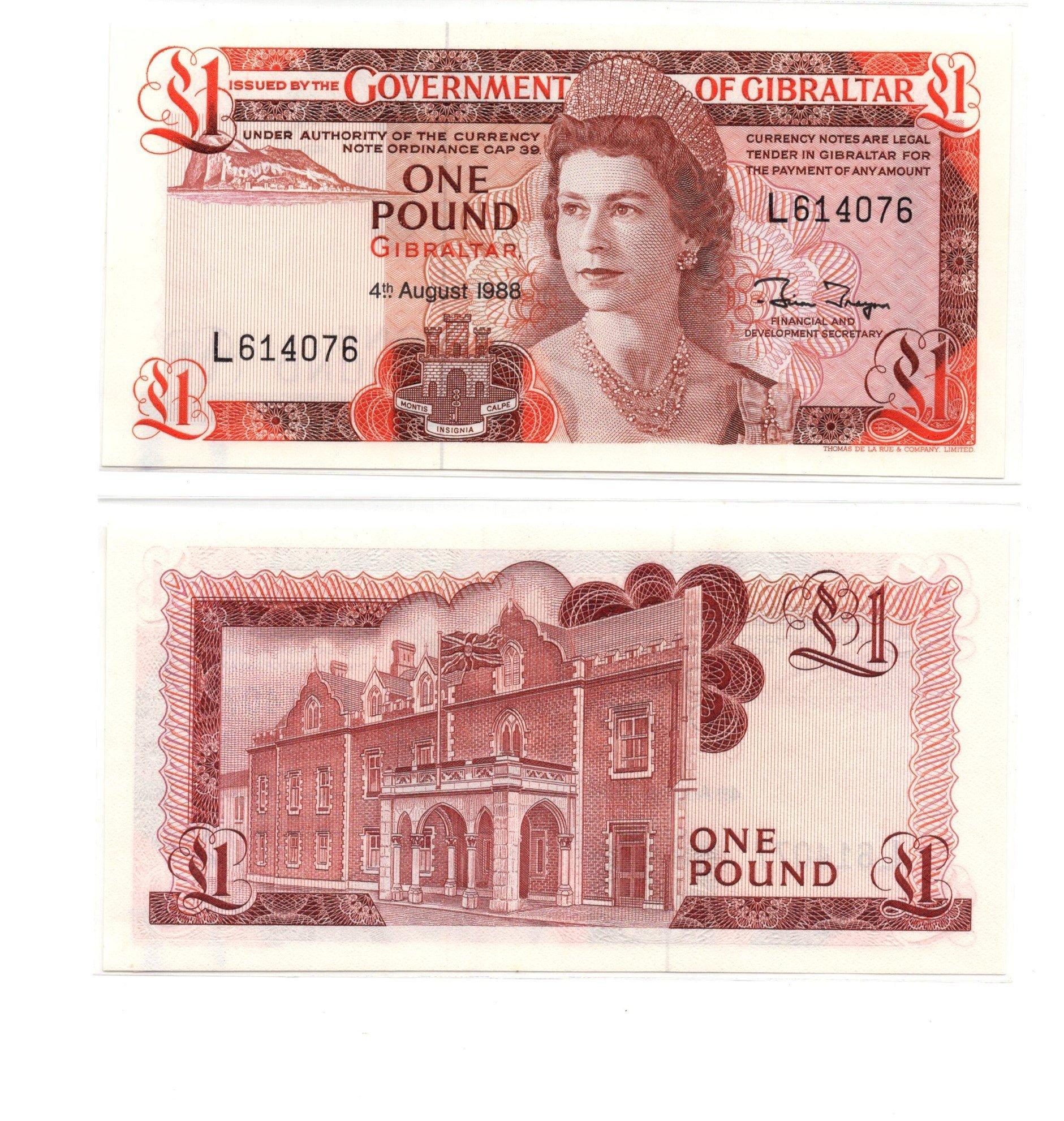 GI(braltar 1 pound