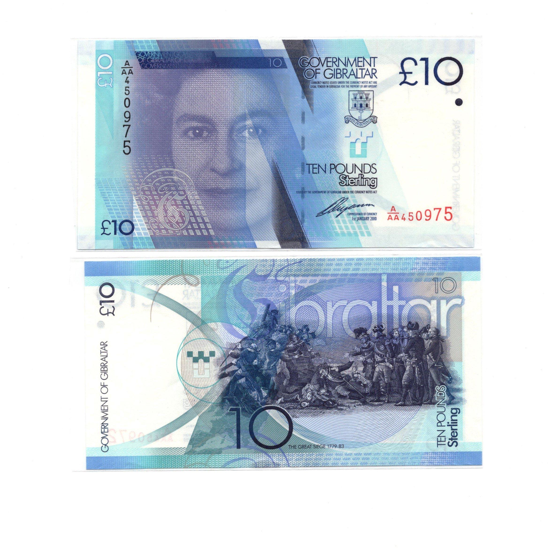 Gibraltar 10 pounds 2011