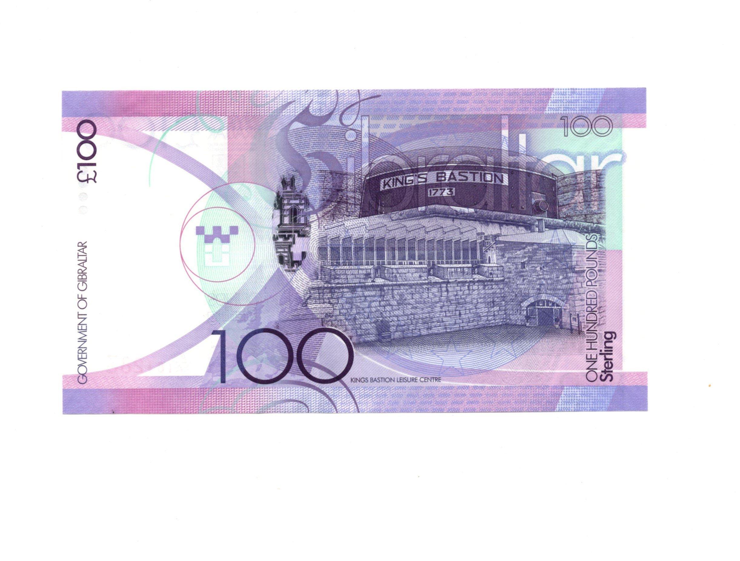 Gibraltar 100 pounds 2011
