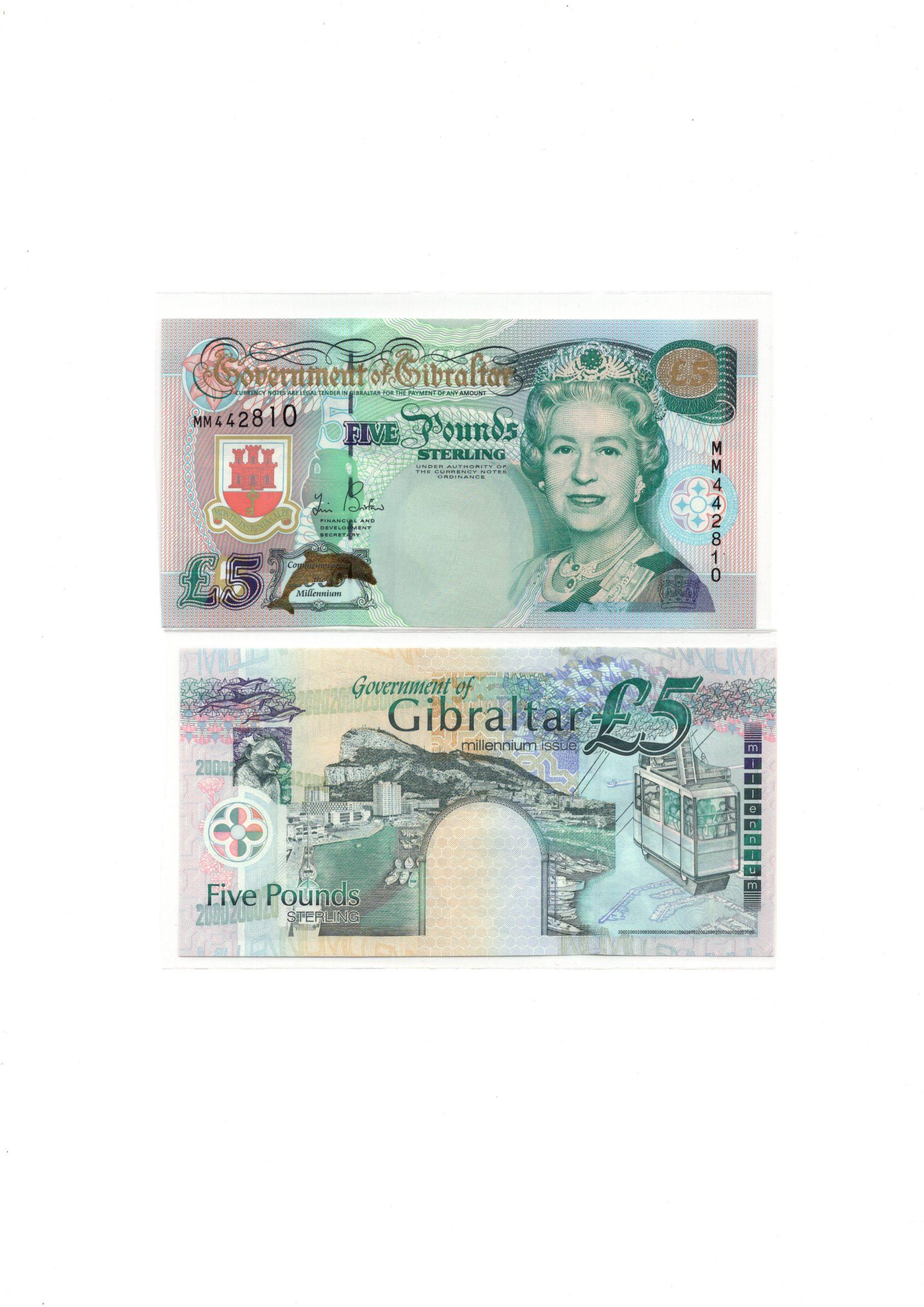 Gibraltar 5 pounds