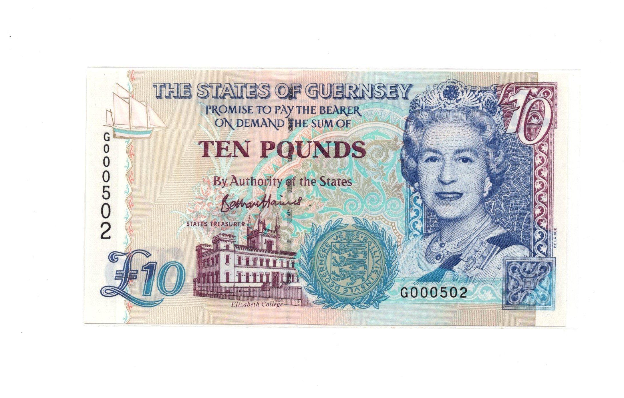 Gurnsey 10 pounds