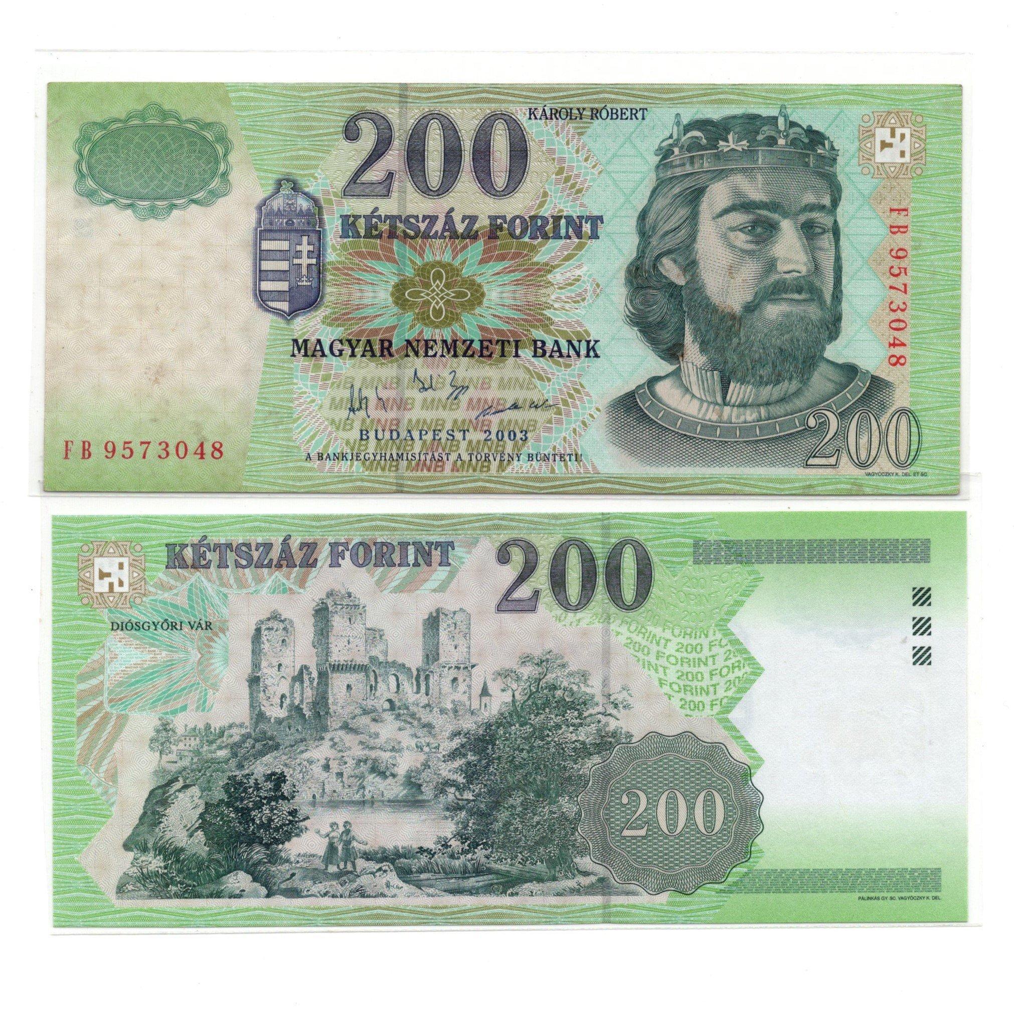 Hungary 200 forint 2001