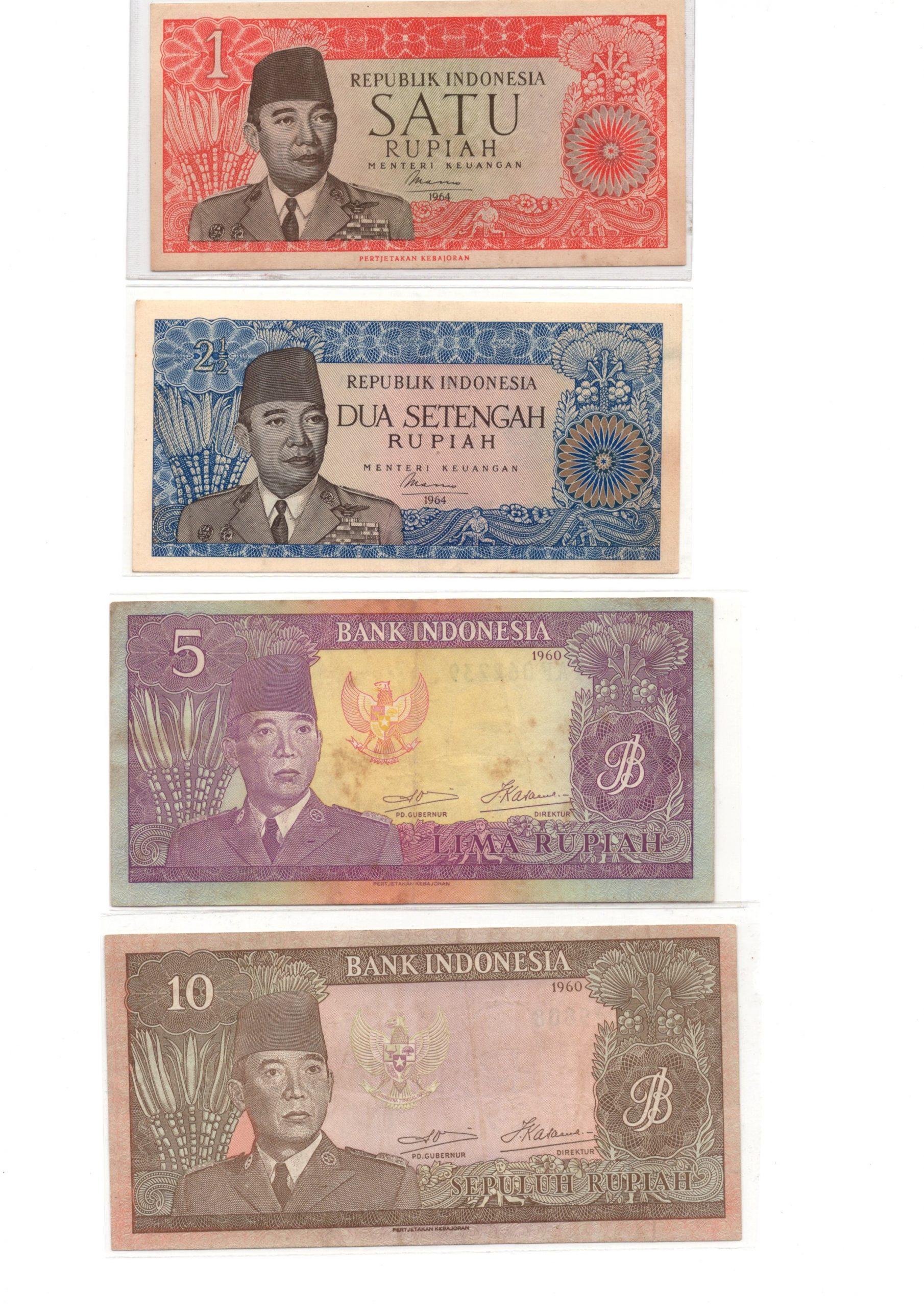 Indonesia 1960 set