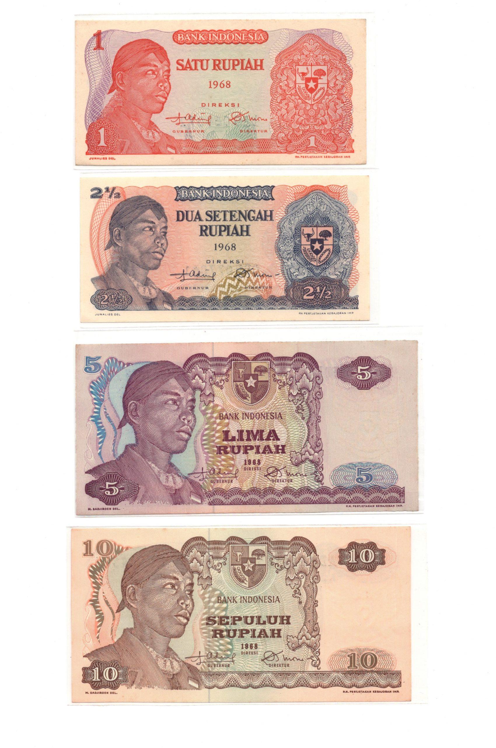 Indonesia 1968 set