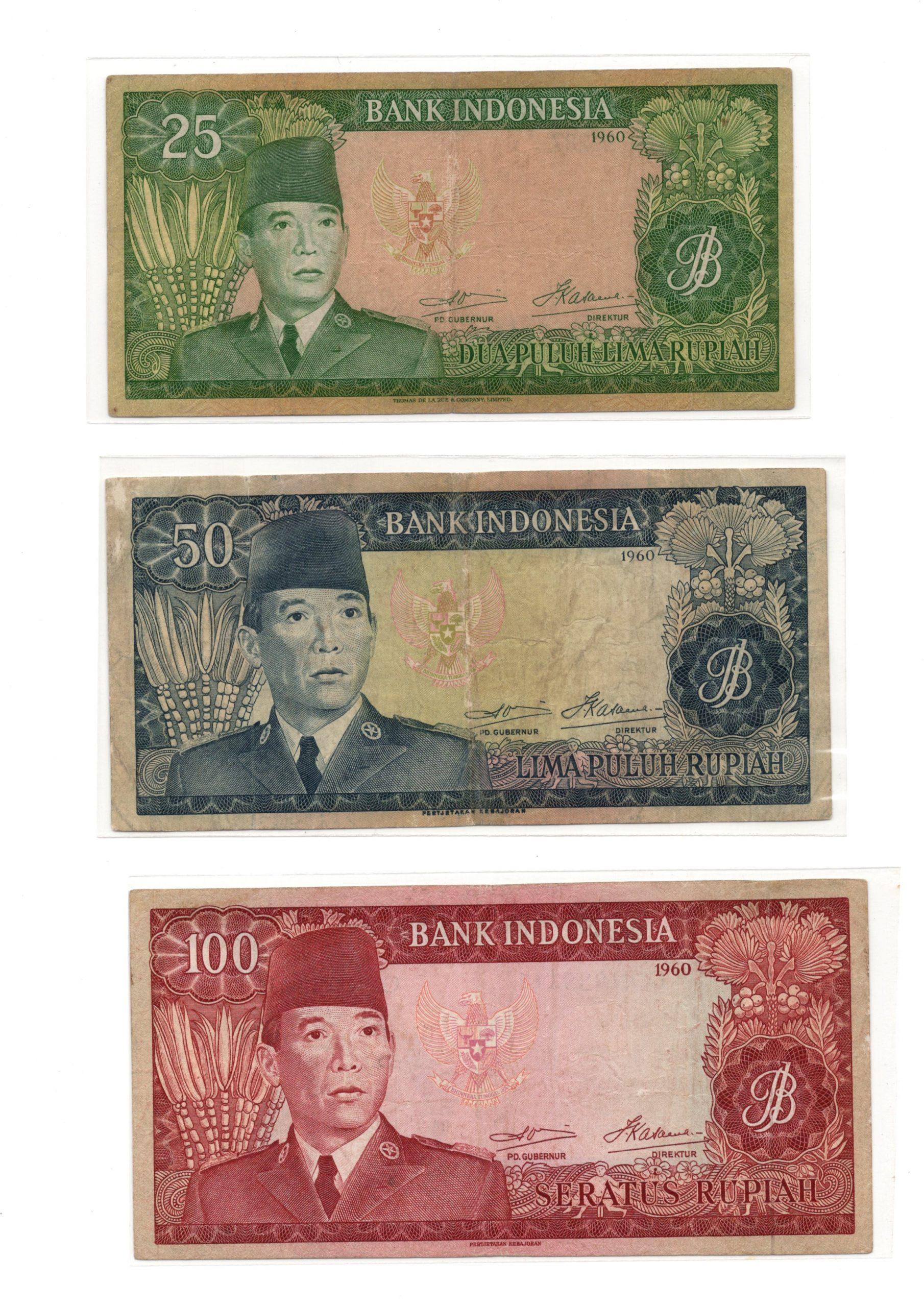 Indonesia 1960 set 2