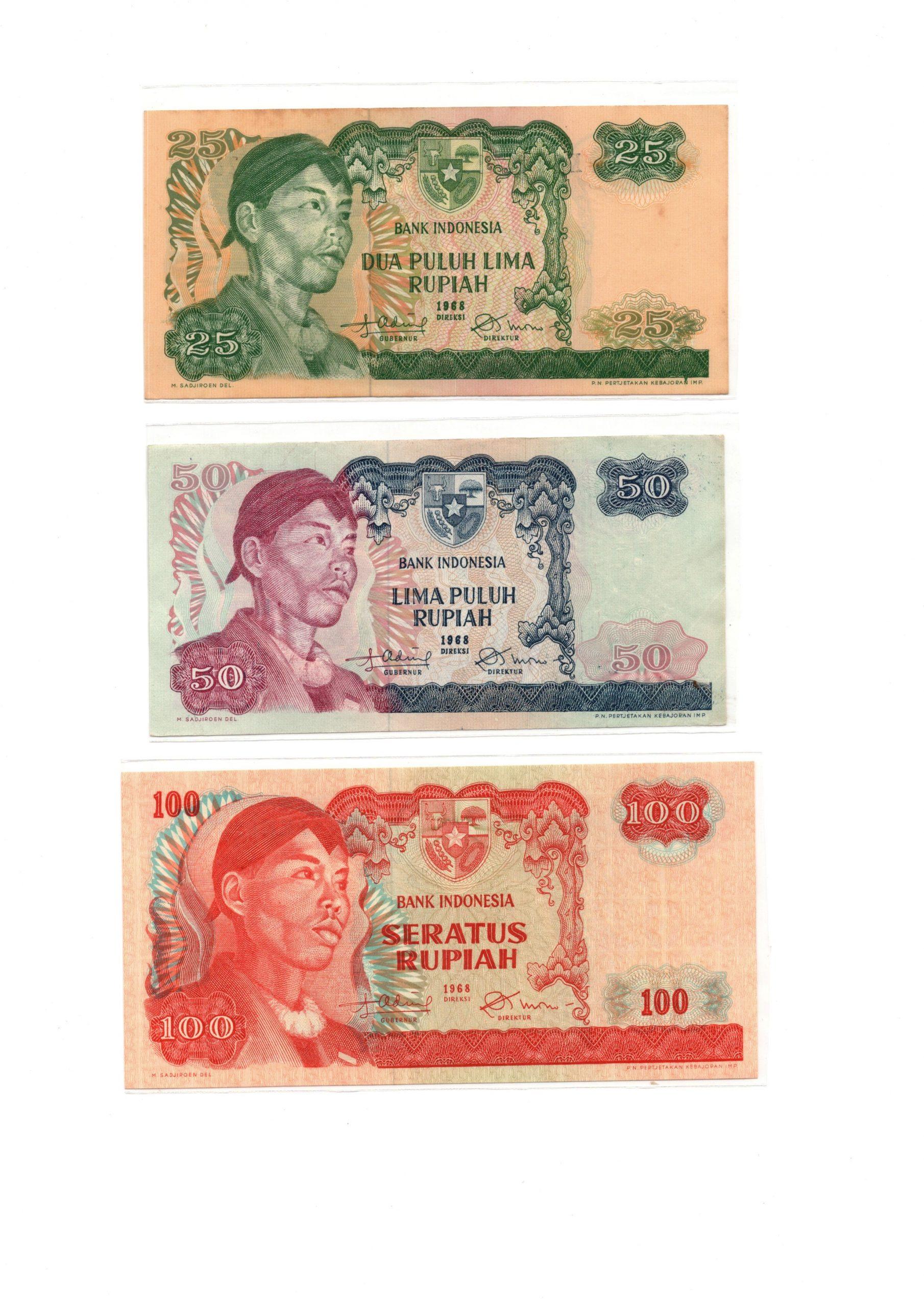 Indonesia 1968 set 2