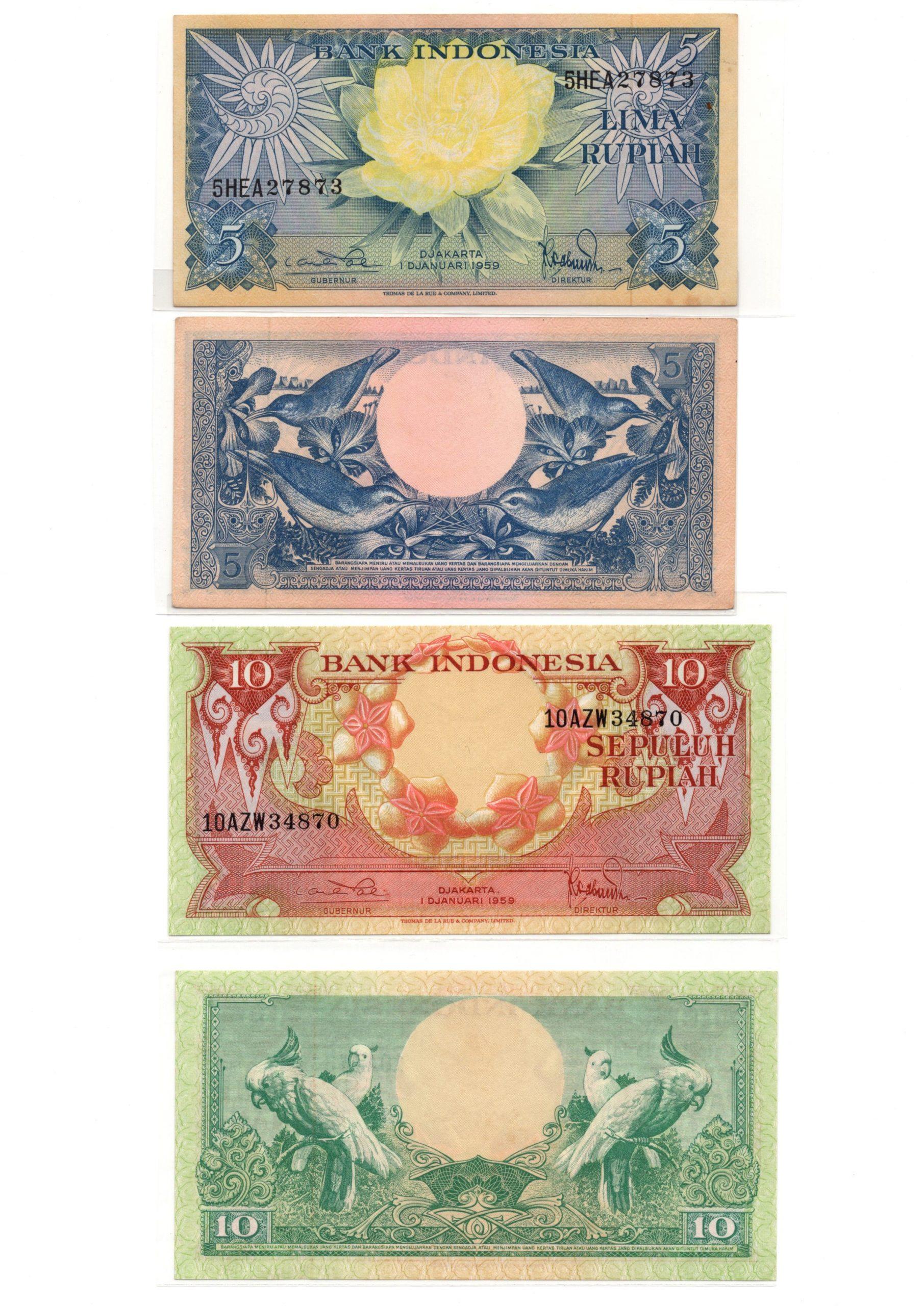 Indonesia 1959 set