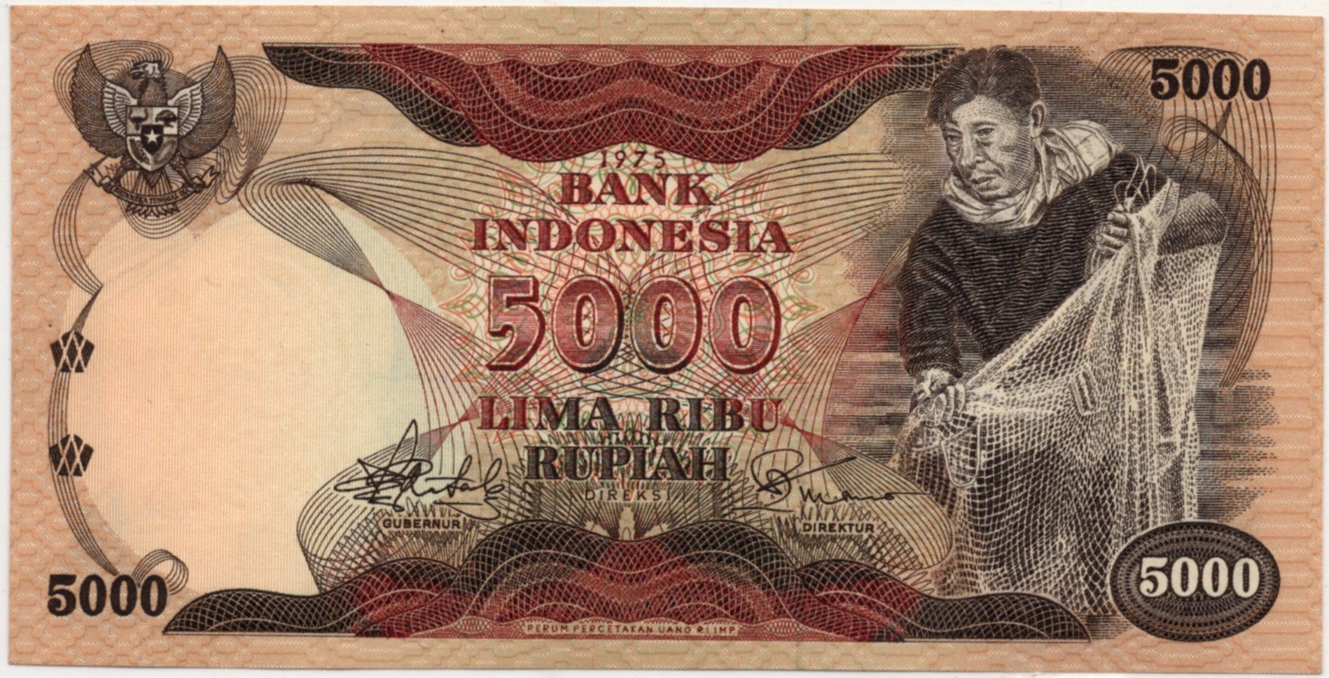 indonesia 500 rupiah P114