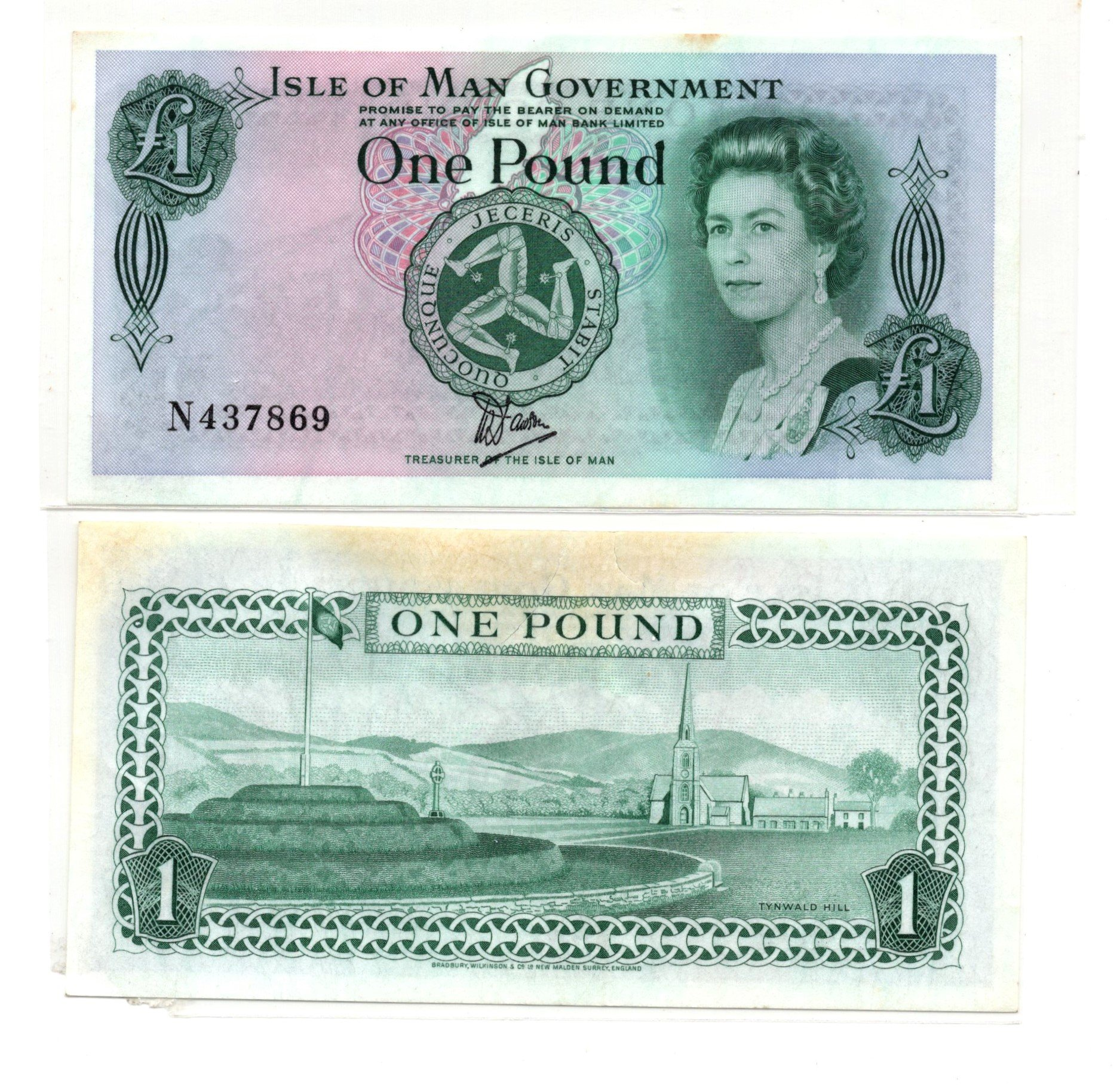 Isle of Man 1 pound polymer