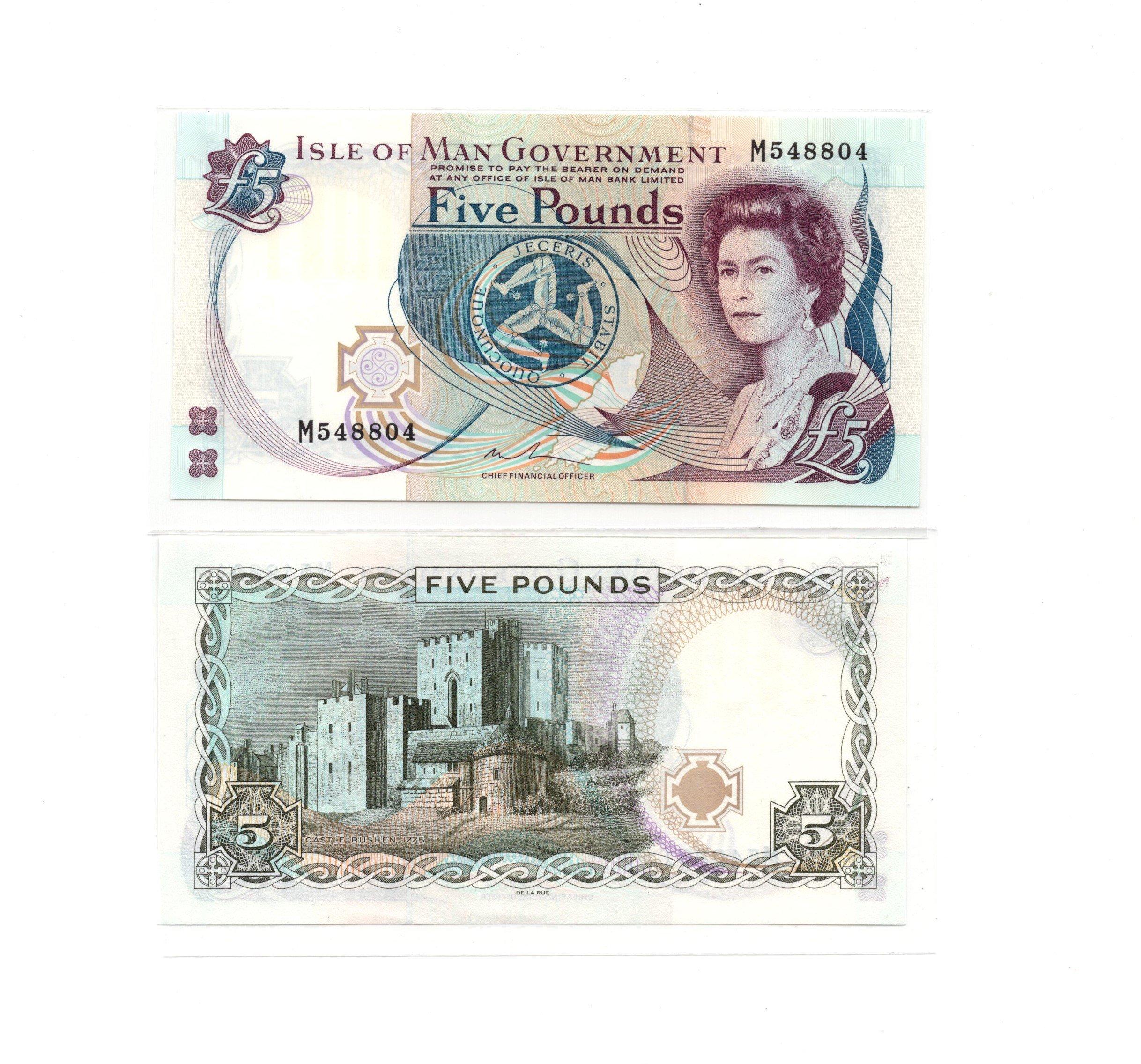 Isle of Man 5 pounds