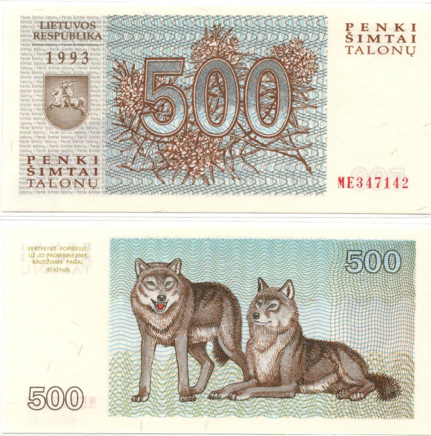 lithuania 500